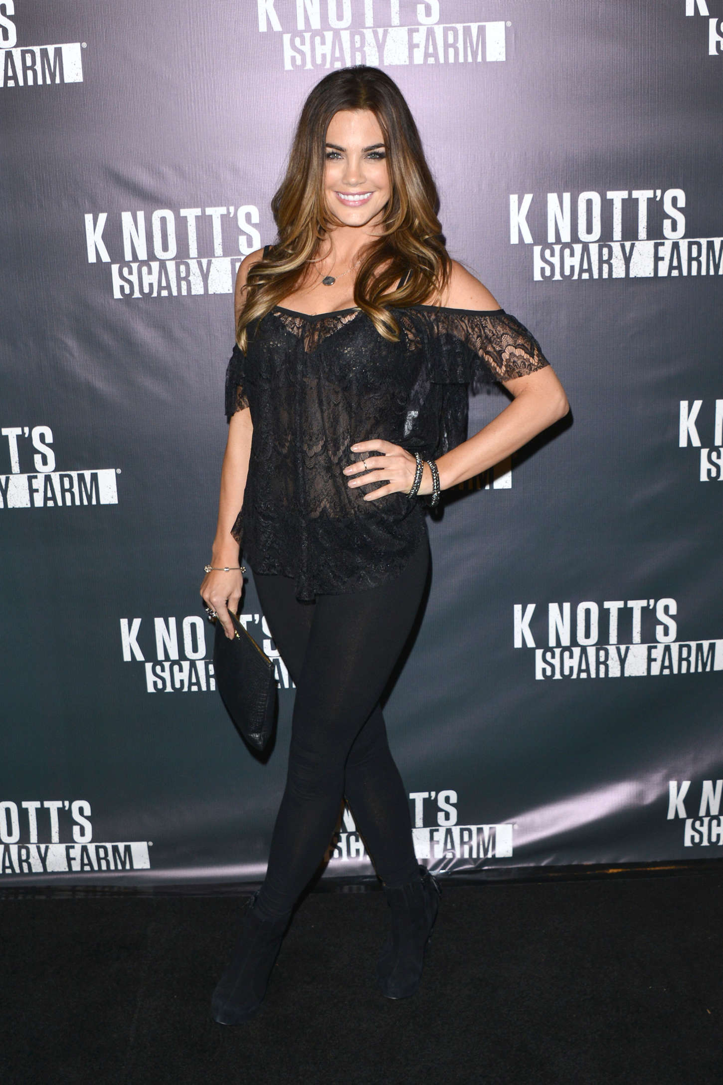 Jillian Murray Knotts Scary Farm Opening Night in Buena Park