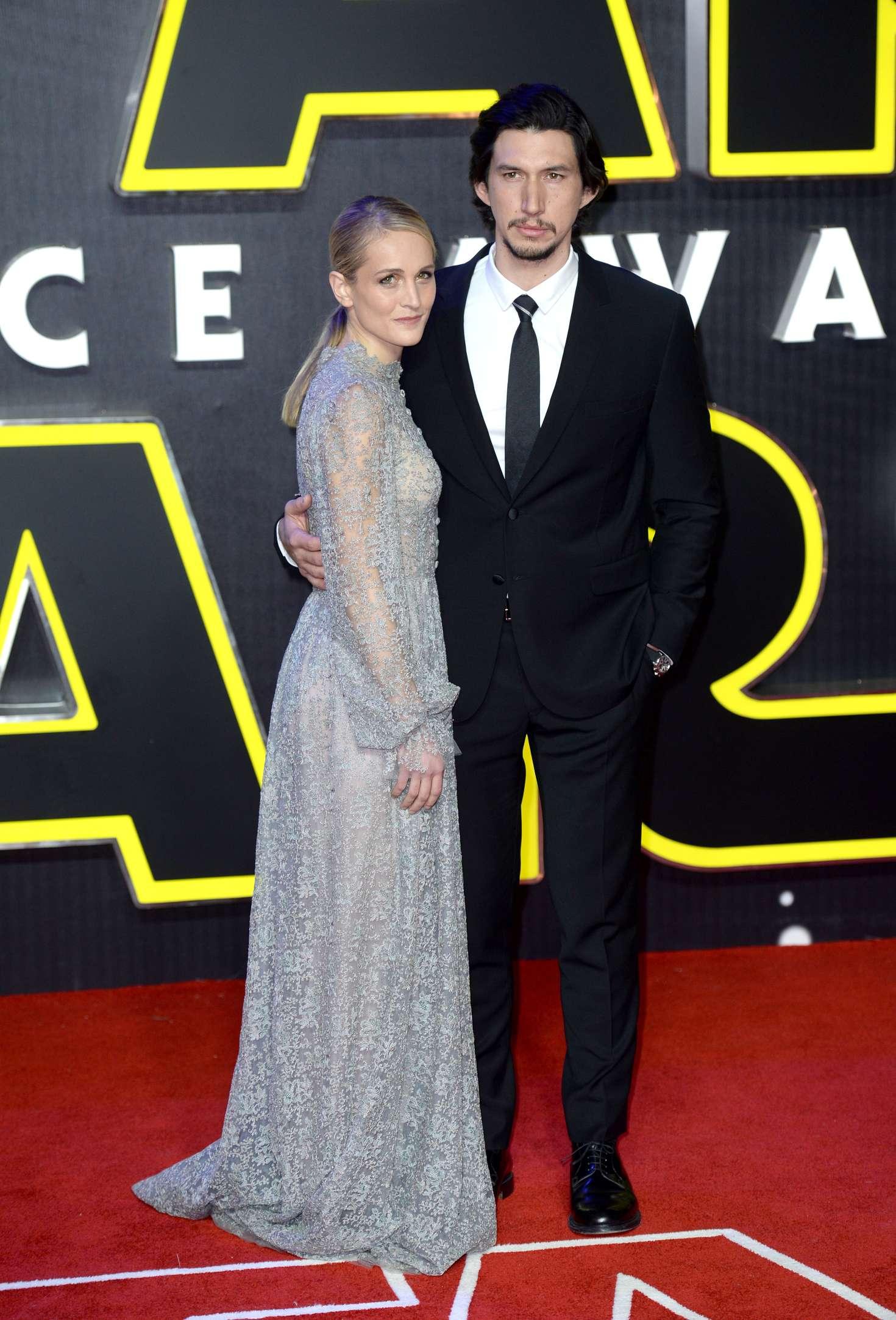 Joanne Tucker Star Wars The Force Awakens Premiere in London-1