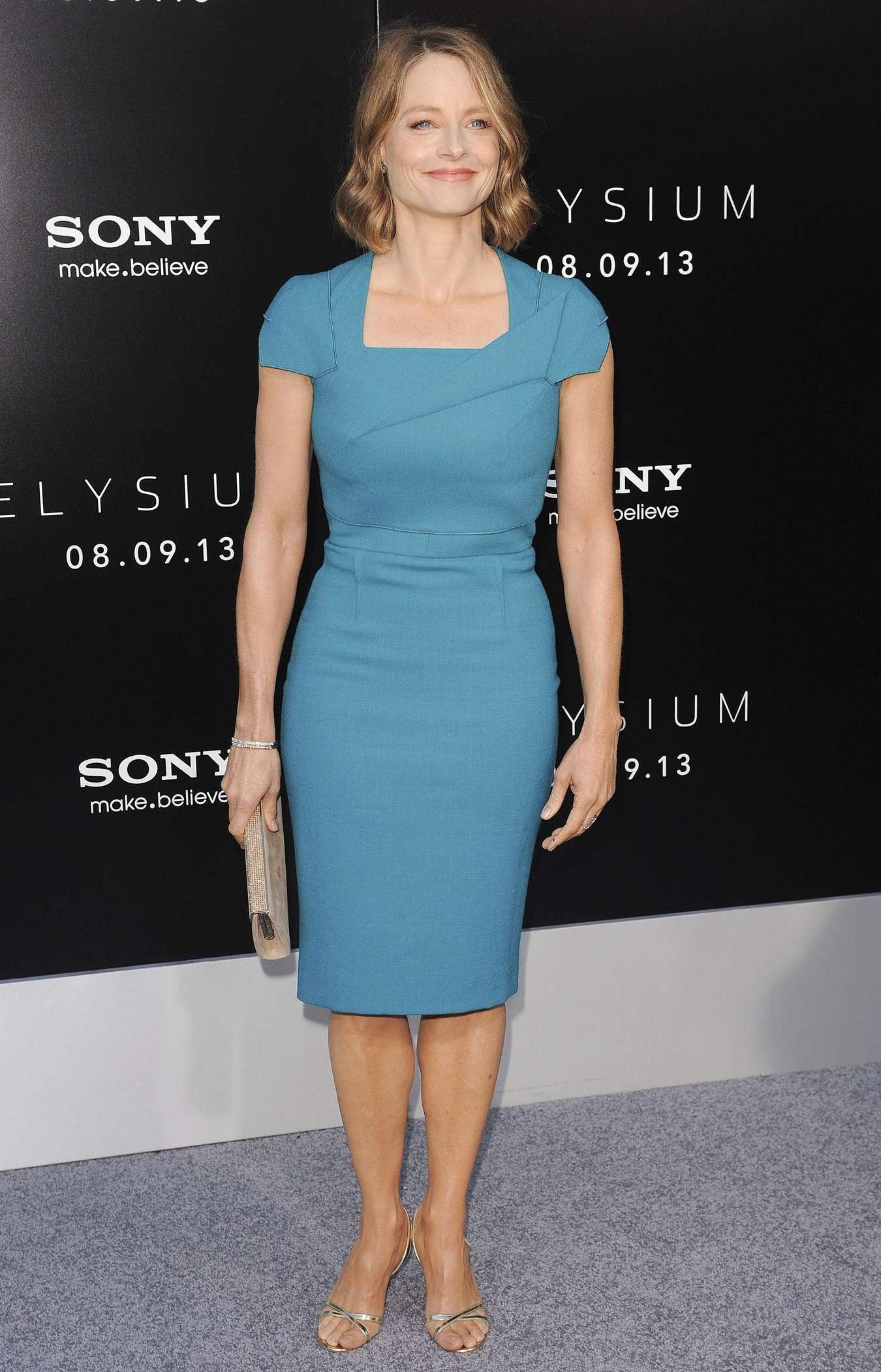 Jodie Foster at Film Premiere of Elysium
