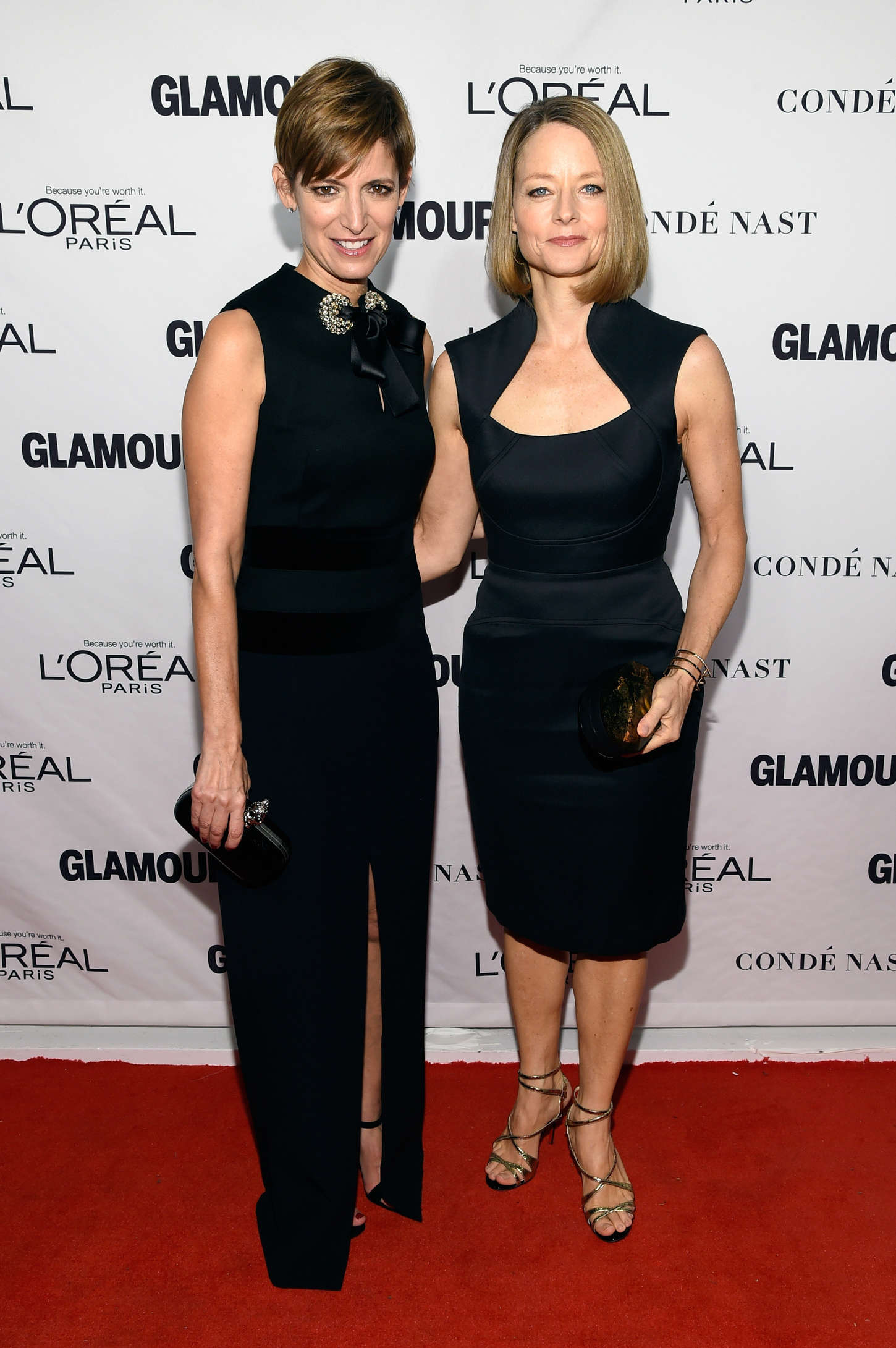 Jodie Foster Glamour Women Of The Year Awards in New York