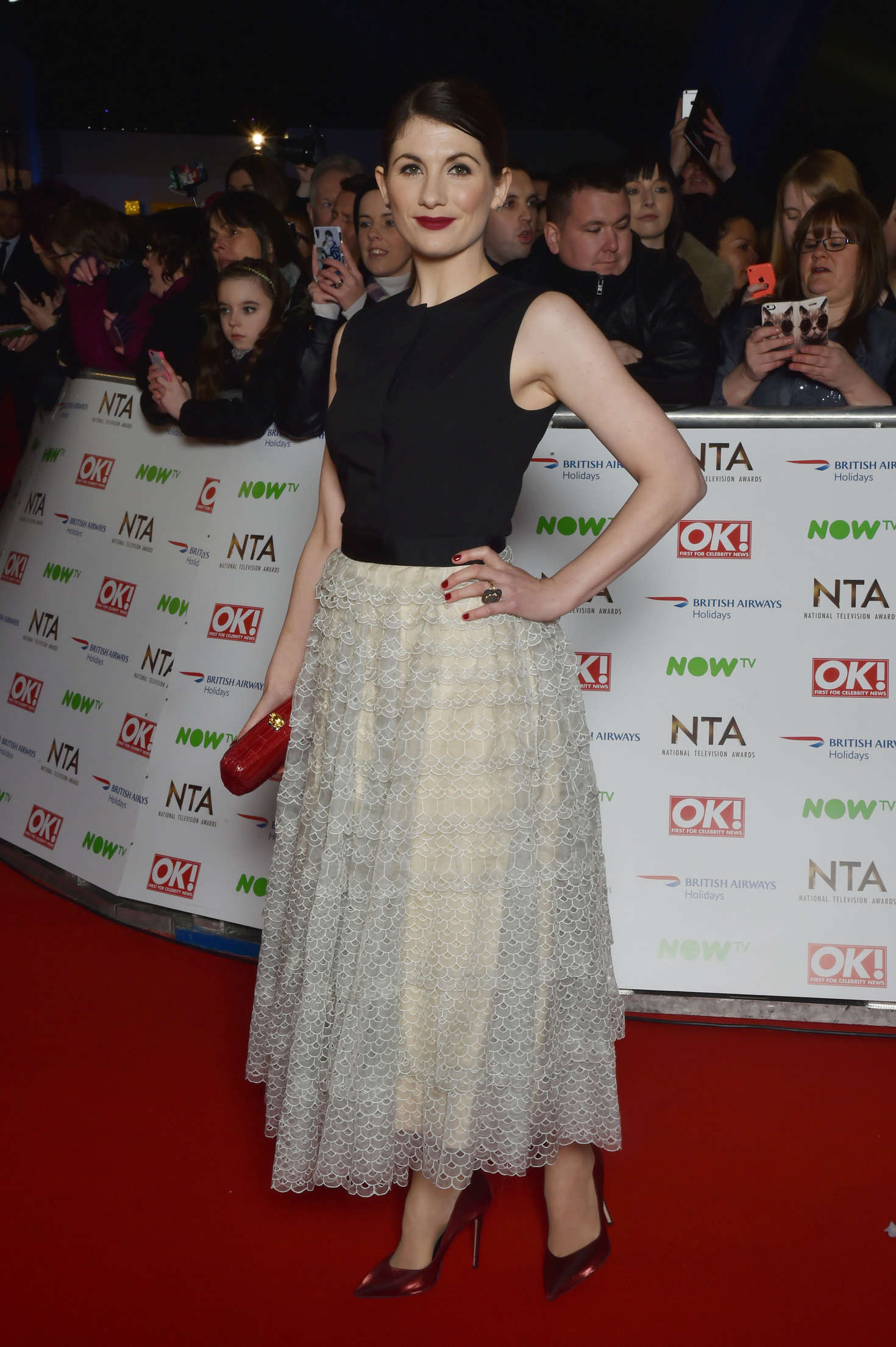 Jodie Whittaker National Television Awards in London