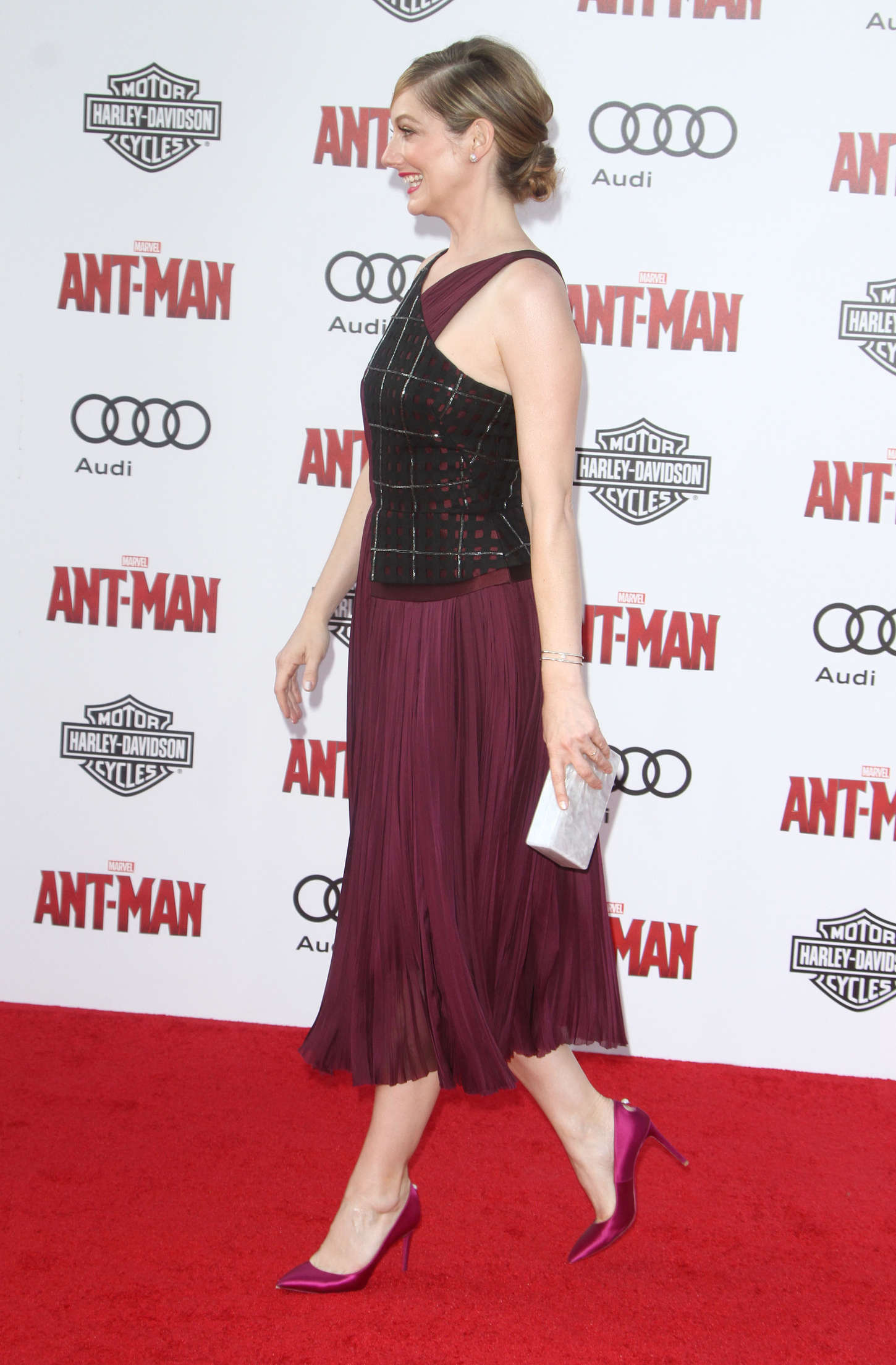 Judy Greer Marvels Ant-Man Premiere in Hollywood