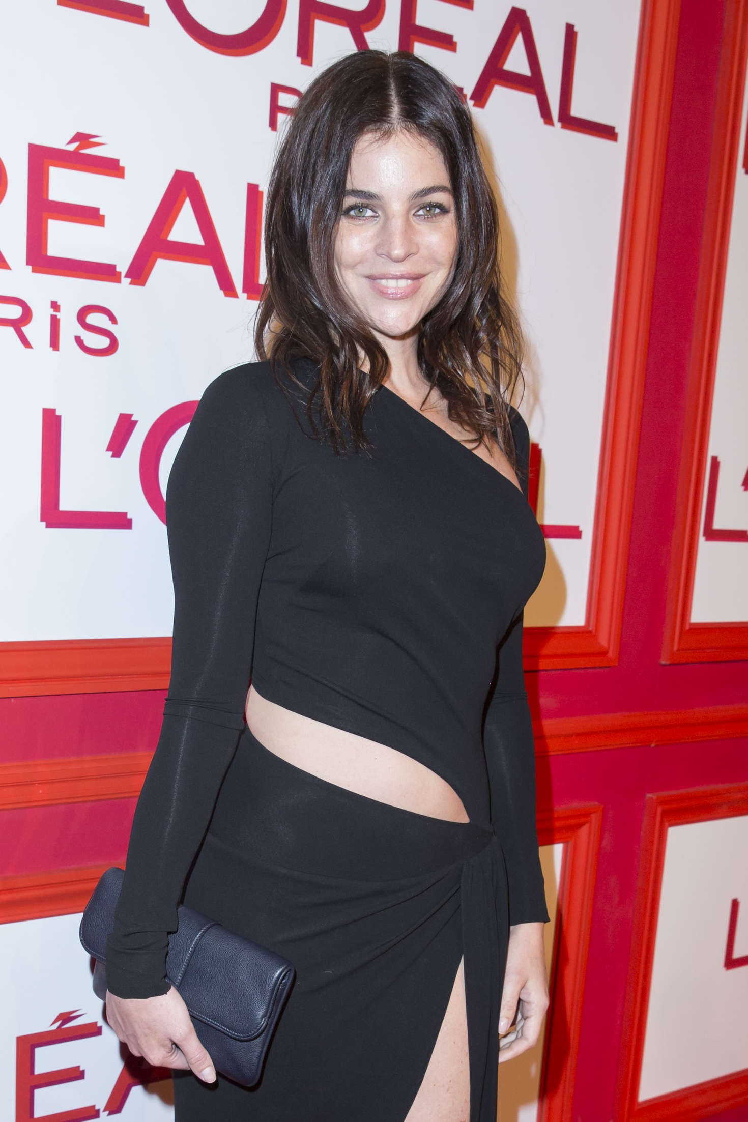 Julia Restoin Roitfeld LOreal Red Obsession Party in Paris