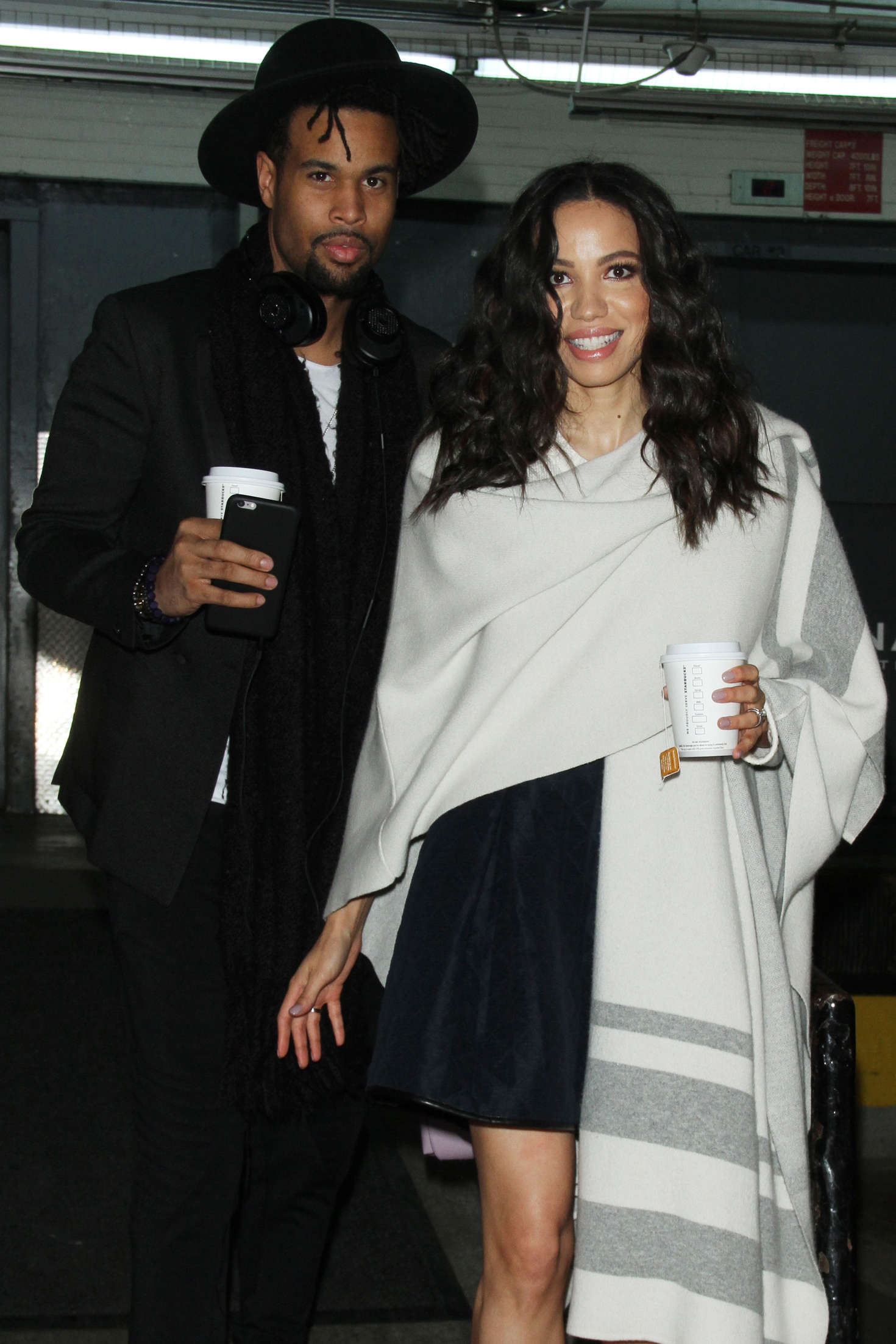 Jurnee Smollett-Bell go out in New York