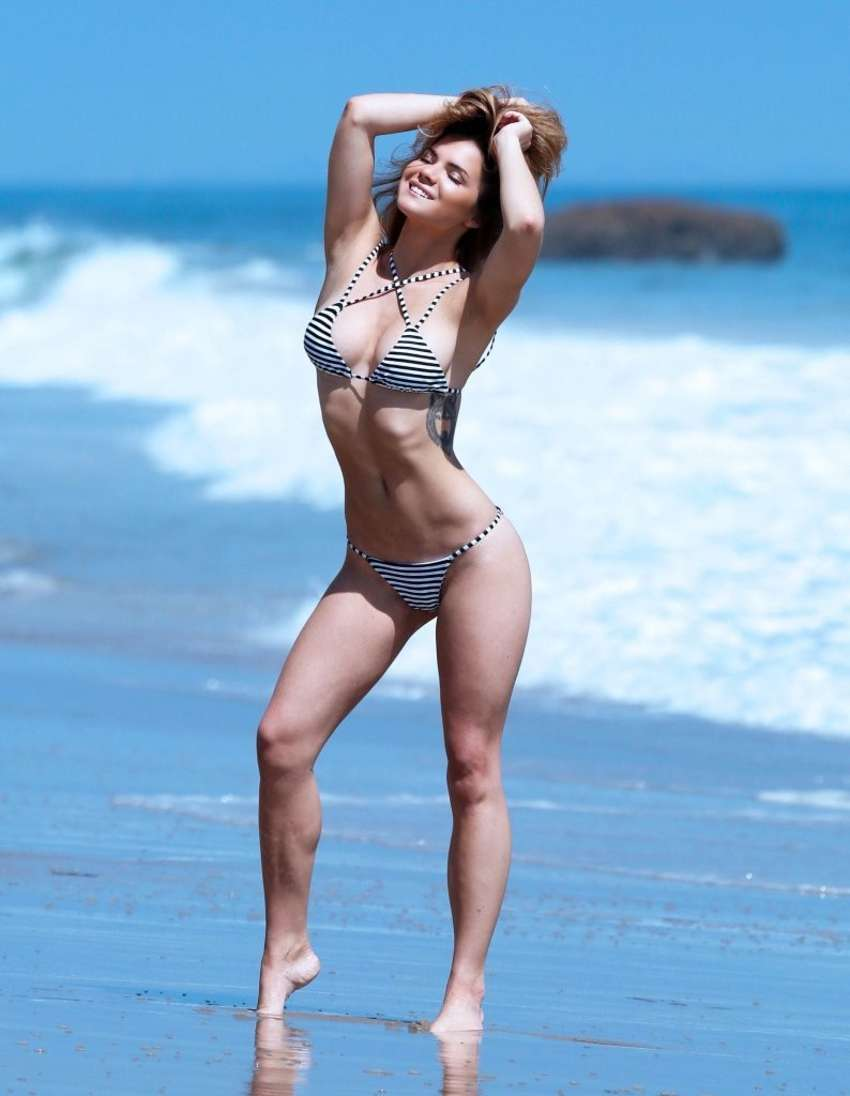 Kaili Thorne Water Bikini Photoshoot in Malibu