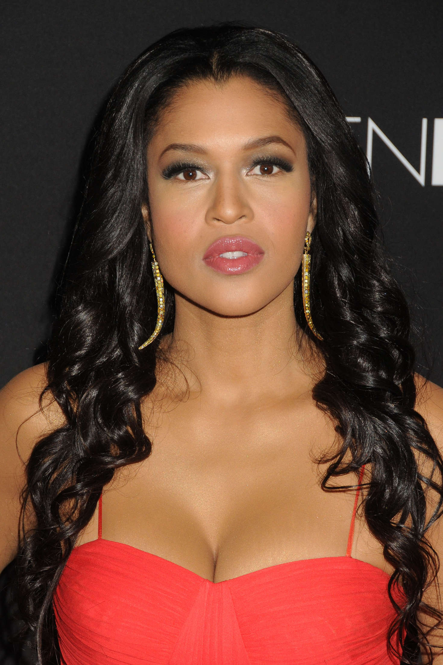 Kali Hawk Fifty Shades of Black Premiere in Los Angeles