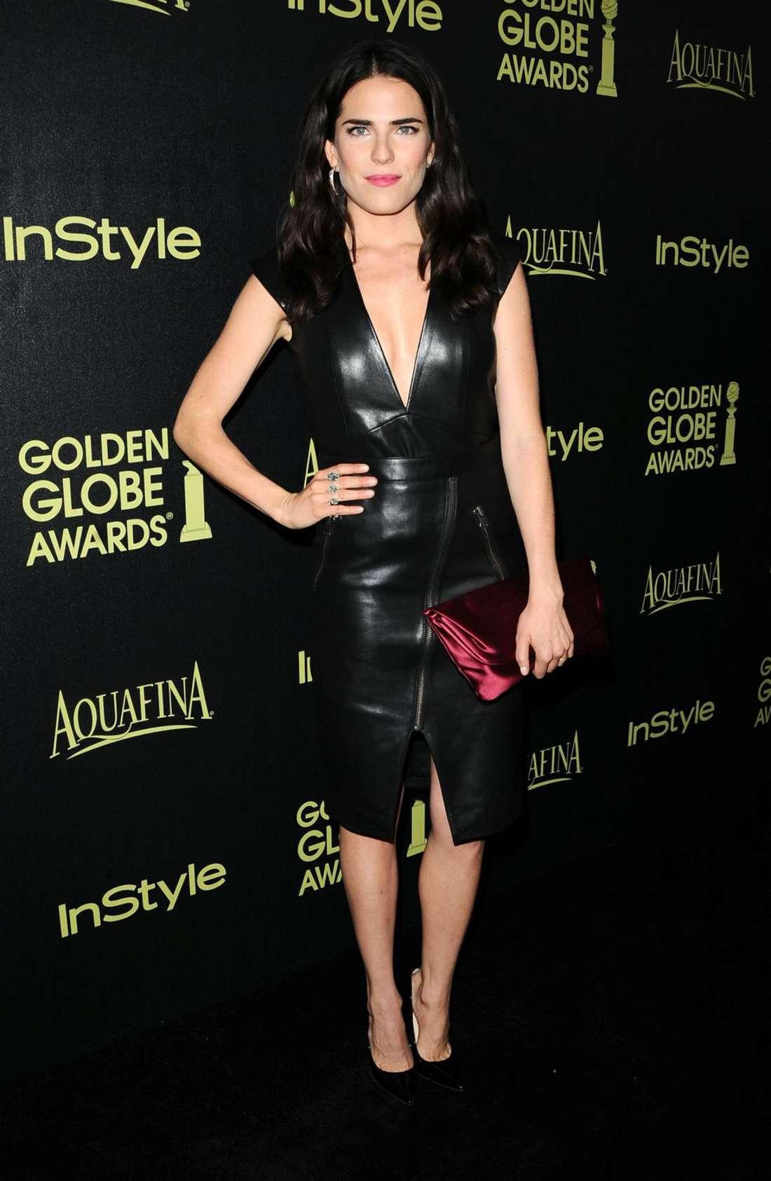 Karla Souza HFPA InStyle Celebrate Golden Globe Award Season in West Hollywood