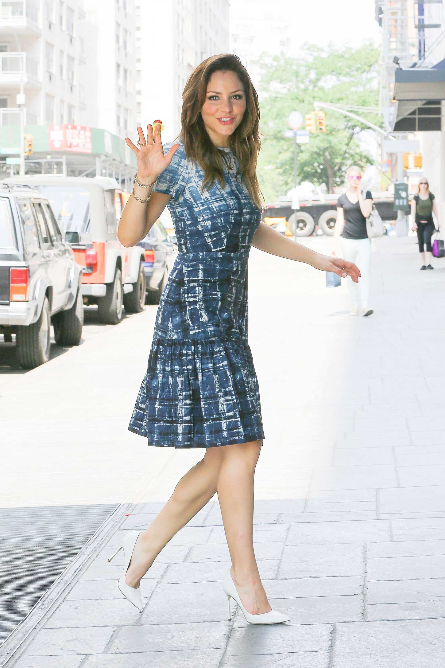 Katharine McPhee go out in New York