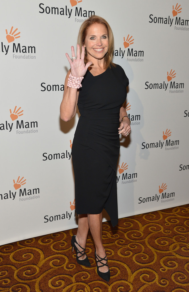 Katie Couric Life Is Love Gala in New York