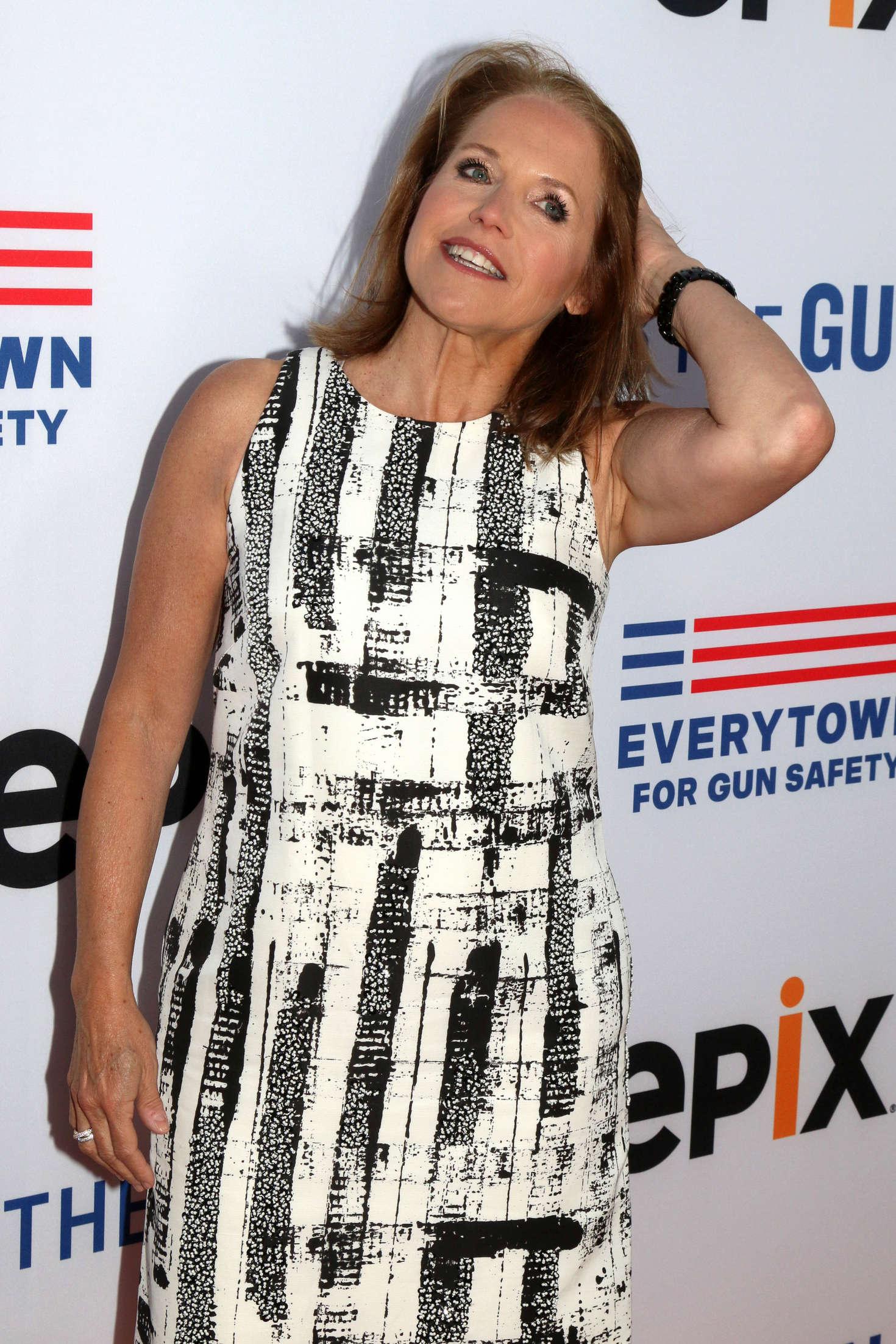 Katie Couric Under The Gun Premiere in Beverly Hills