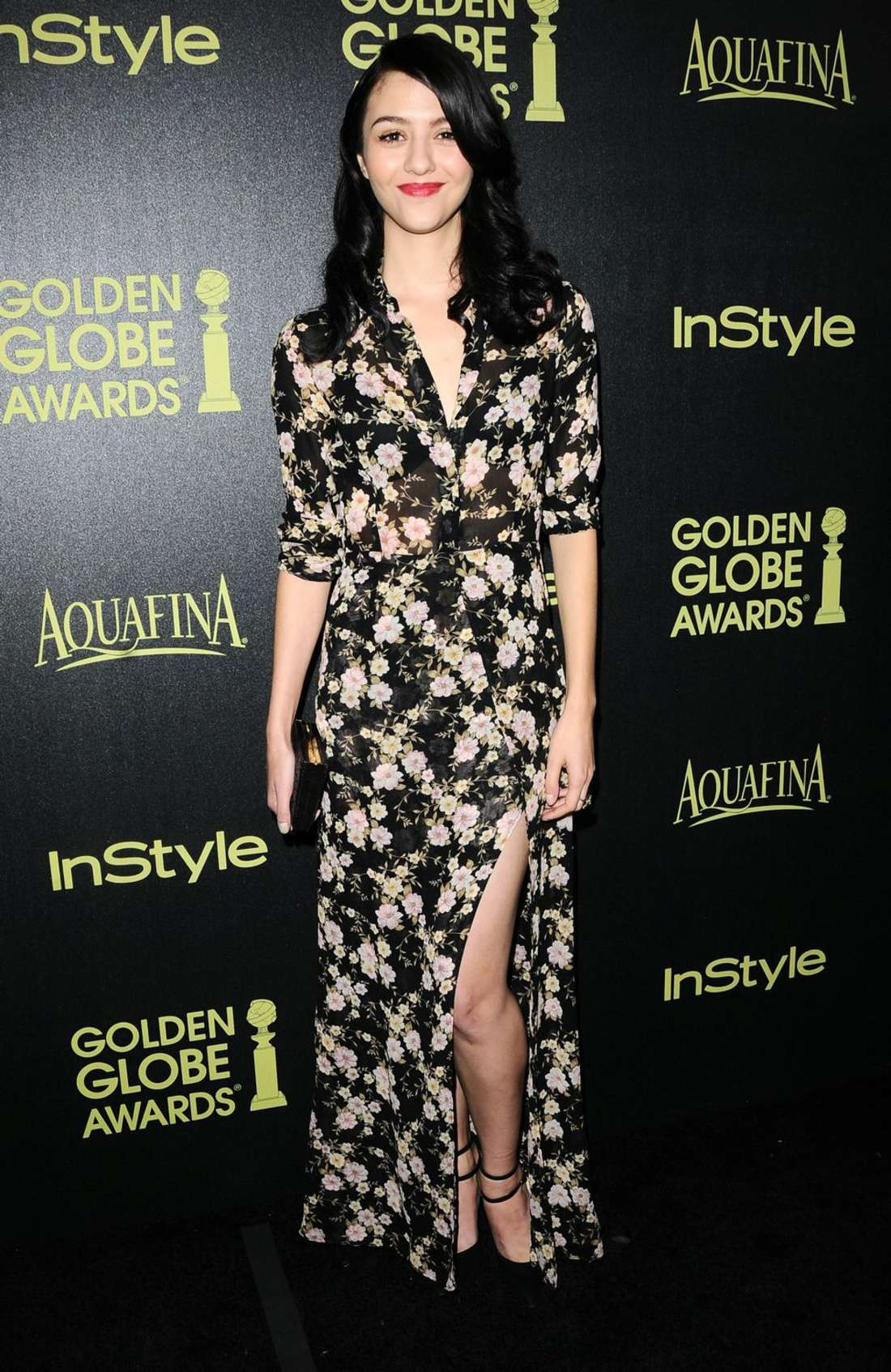 Katie Findlay HFPA InStyle Celebrate Golden Globe Award Season in West Hollywood