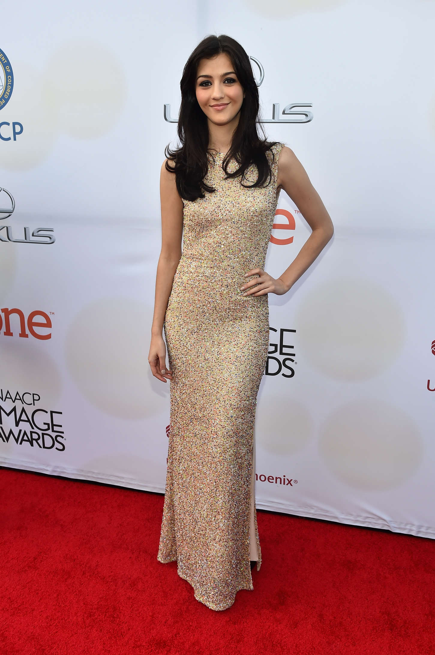 Katie Findlay NAACP Image Awards in Pasadena