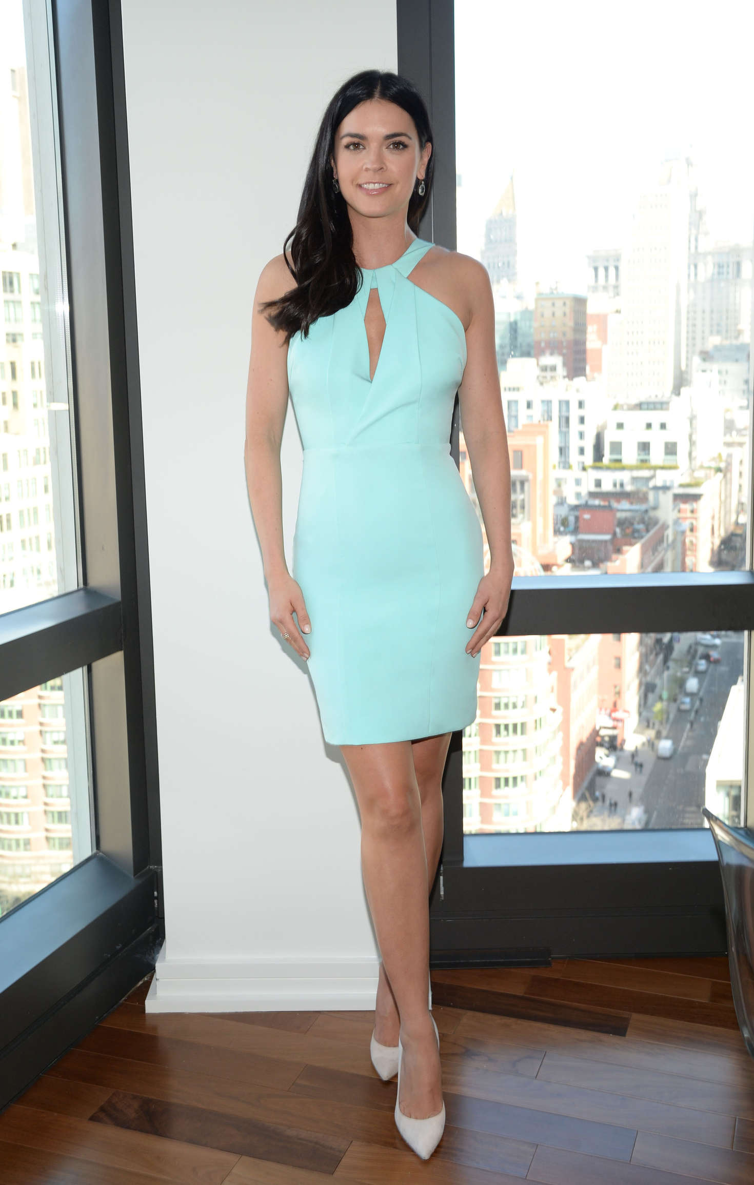 Katie Lee on a Photoshoot in New York