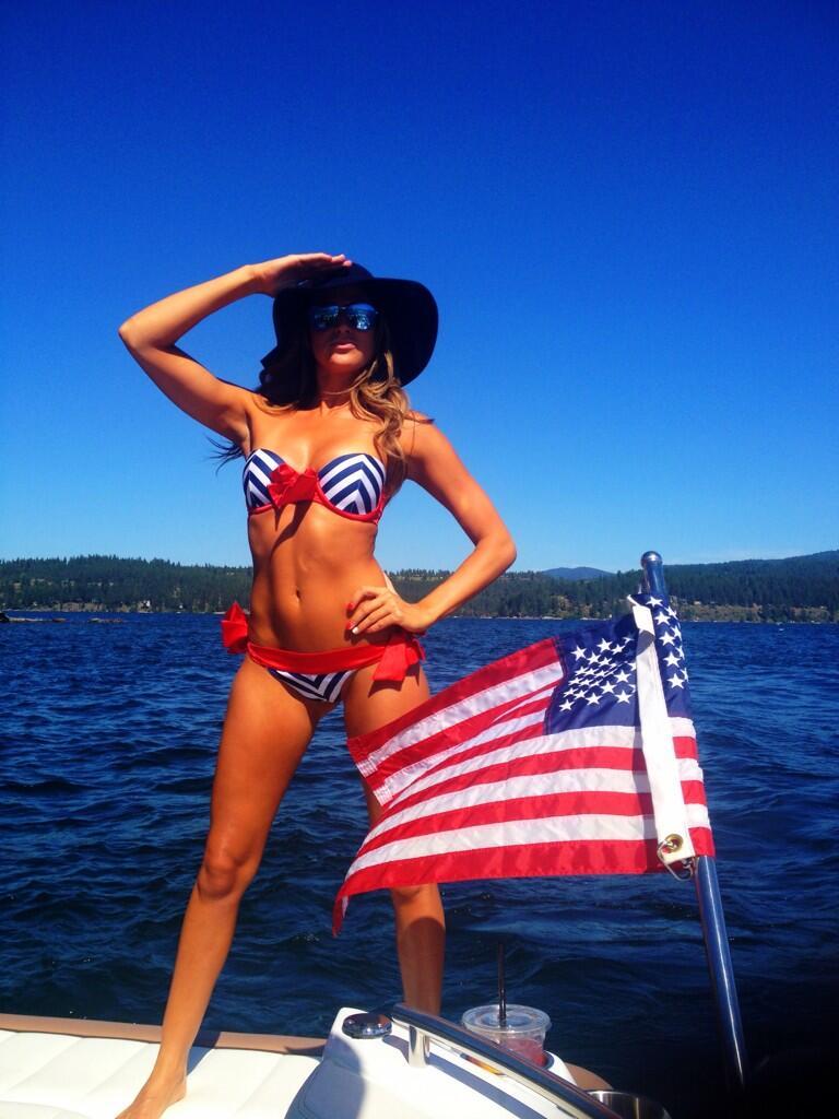 Kelly Kelly in a Bikini