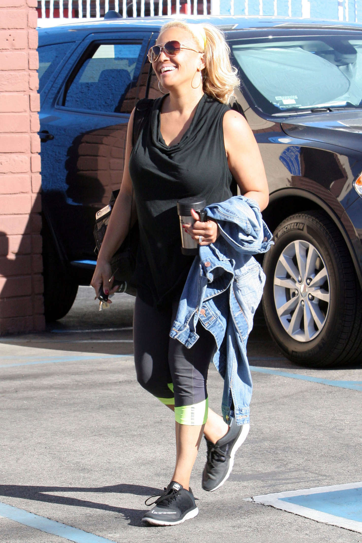 Kim Fields at Dancing with the Stars studio in Hollywood