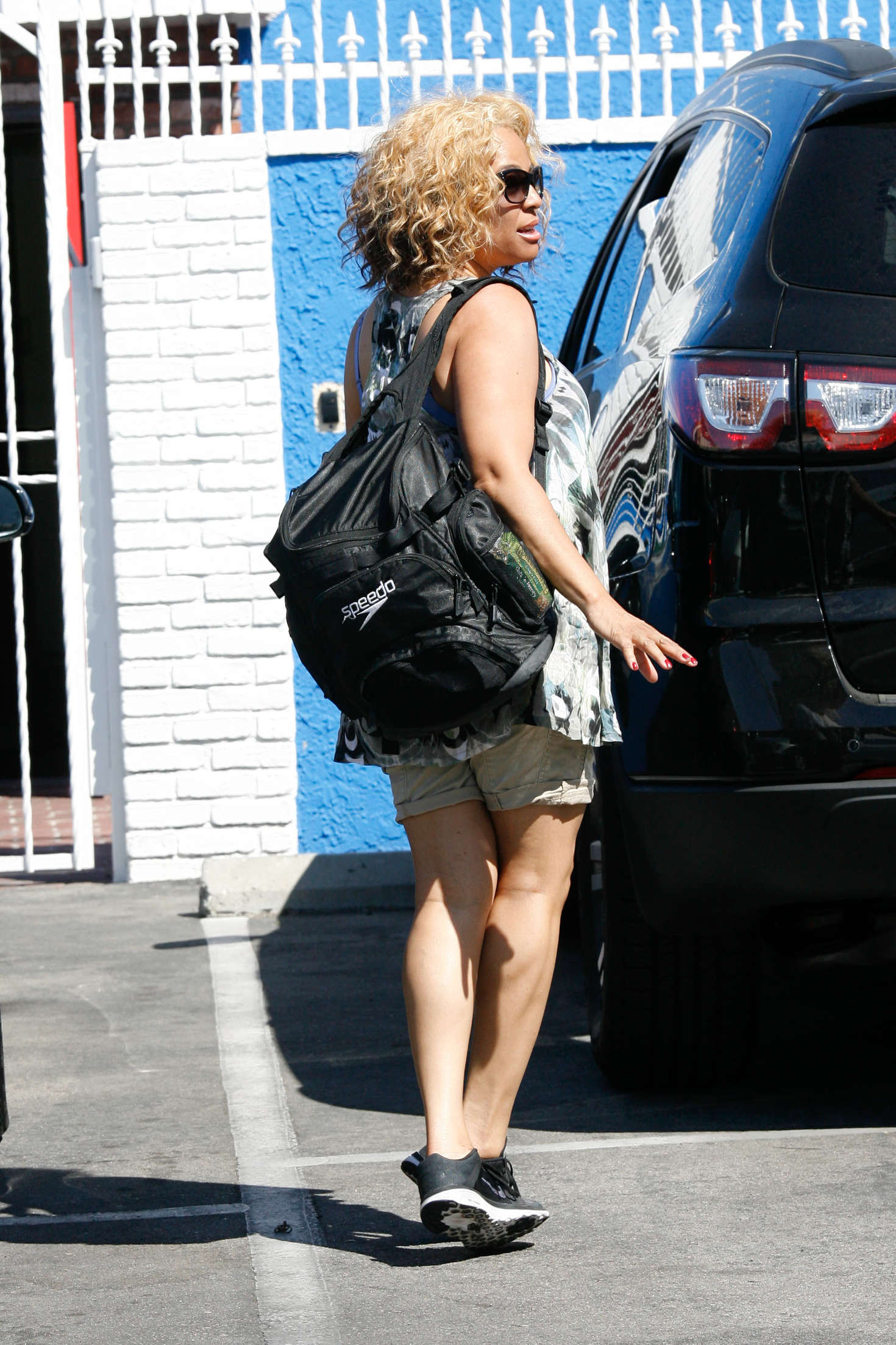 Kim Fields at DWTS Studios in Hollywood