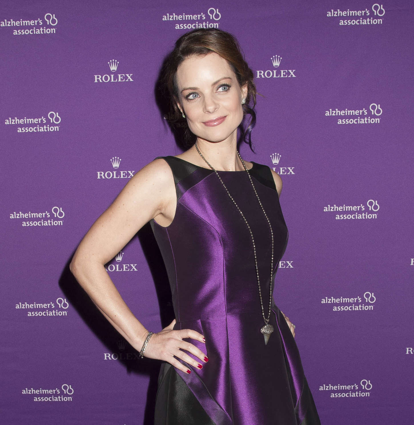 Kimberly Williams-Paisley Alzheimers Association Annual Rita Hayworth Gala in New York