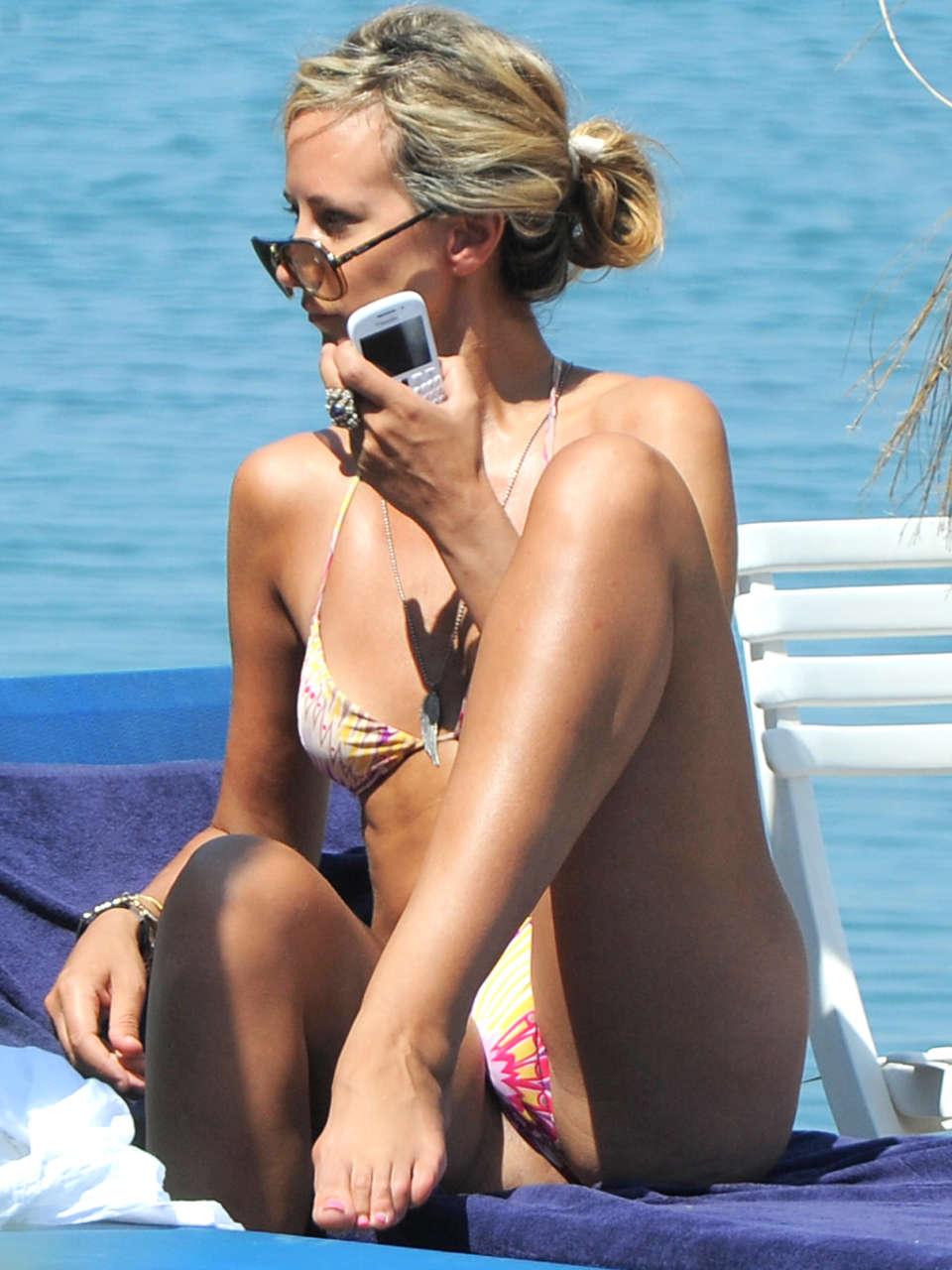 Lady Victoria Hervey Bikini in Ischia