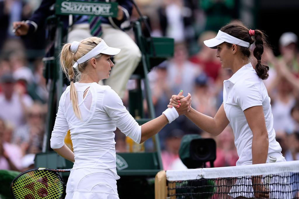 Laura Robson Wimbledon Day