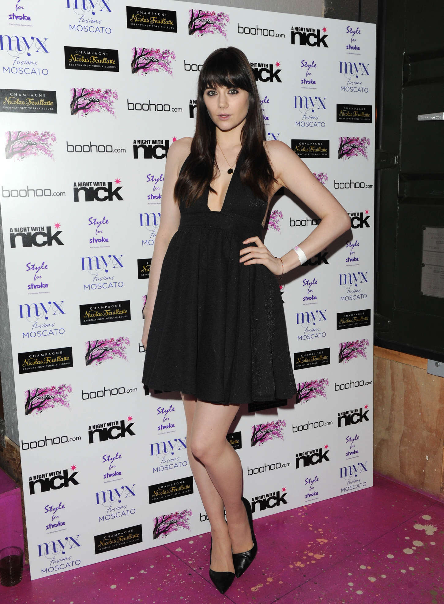 Lilah Parsons A Night With Nick in London