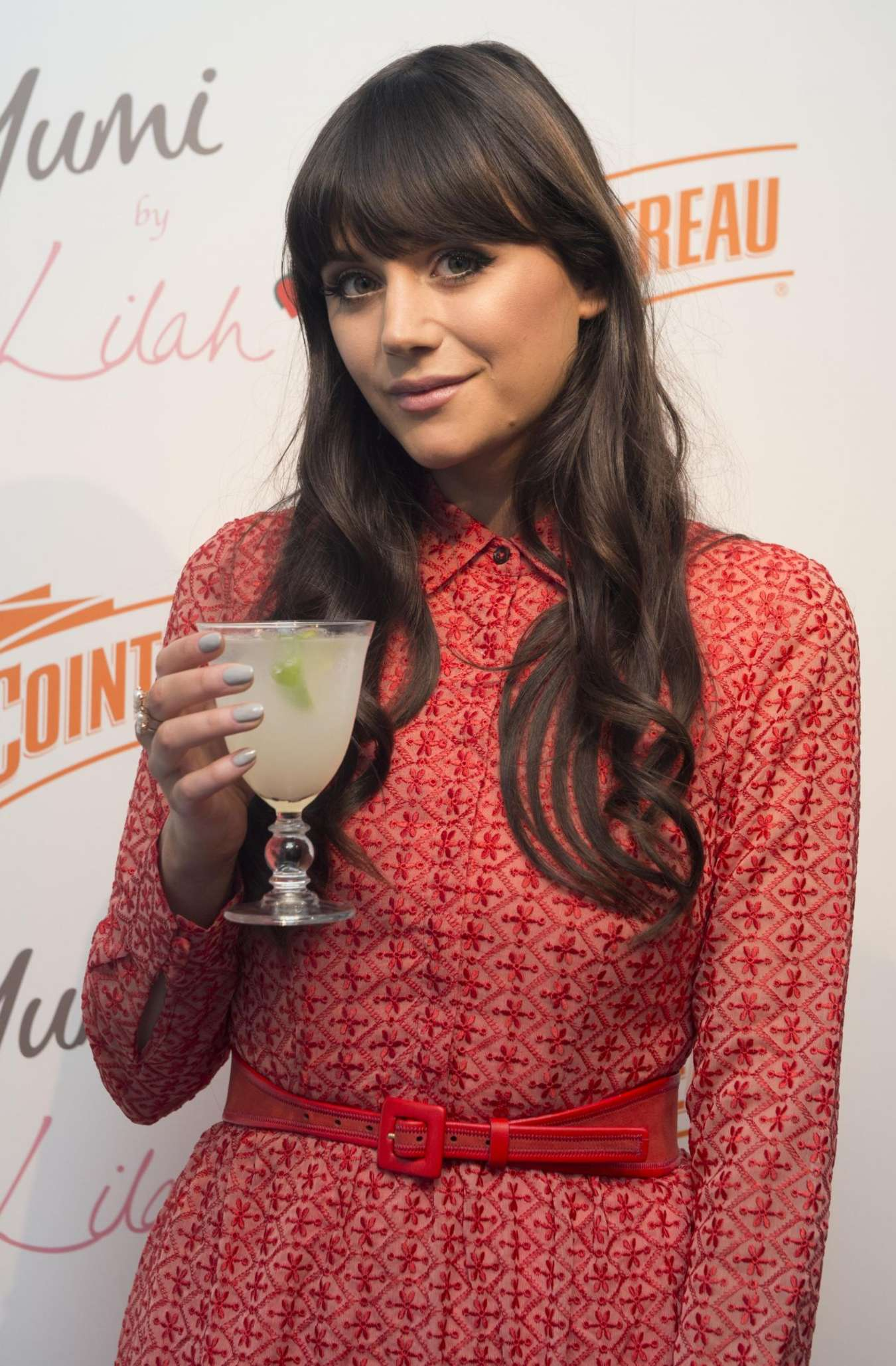 Lilah Parsons Cointreau Launch Party for Yumi By Lilah Collection in London