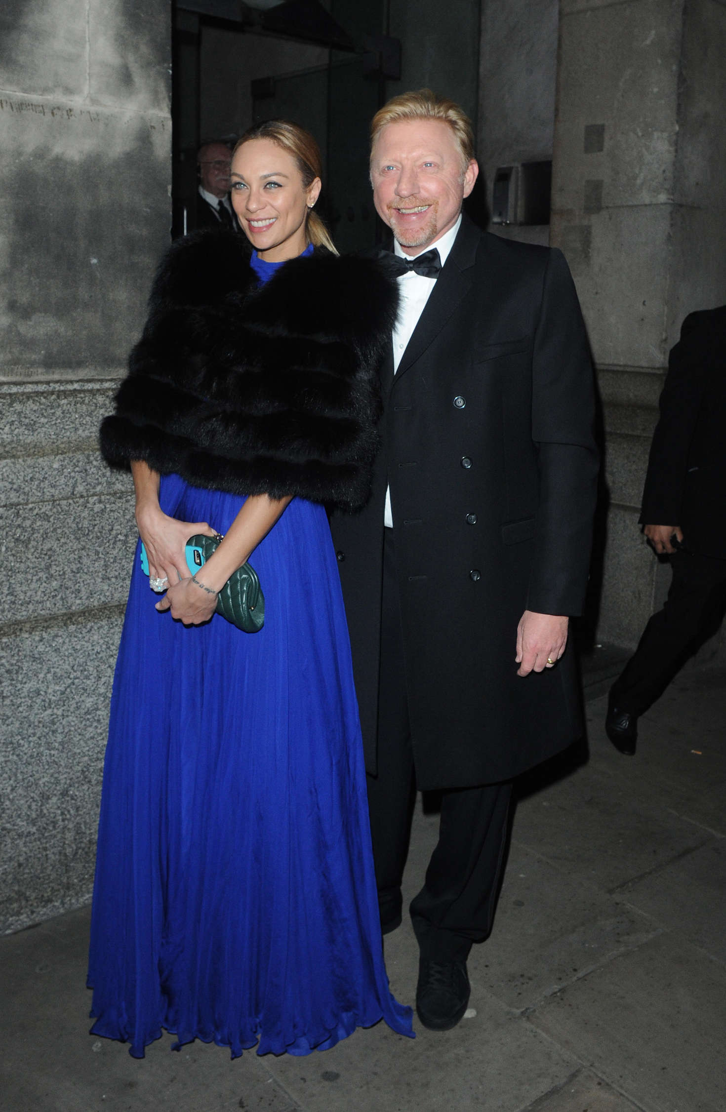 Lilly Becker Leaving the Princes Trust Gala Dinner in London