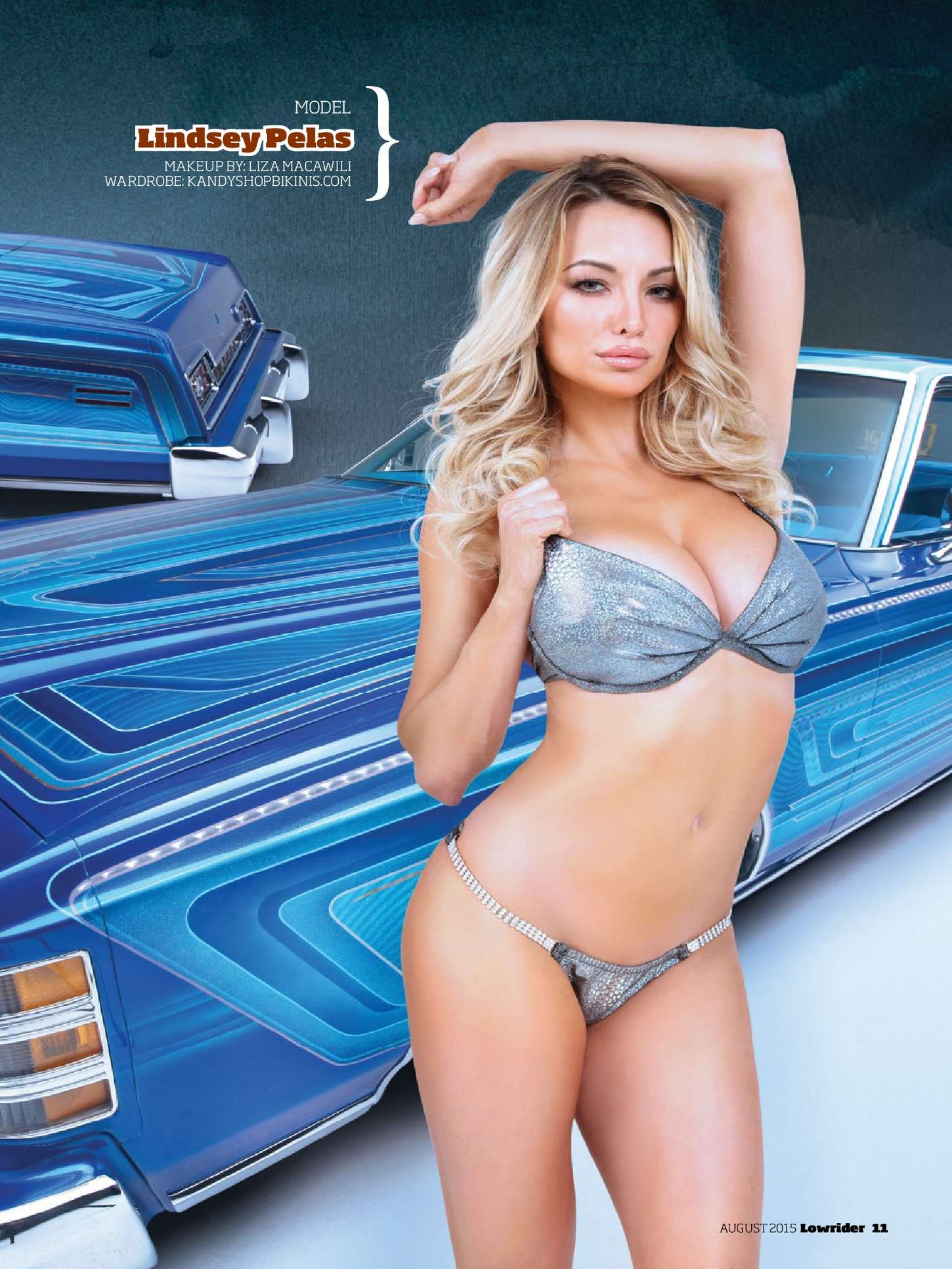 Lindsey Pelas Lowrider US Magazine