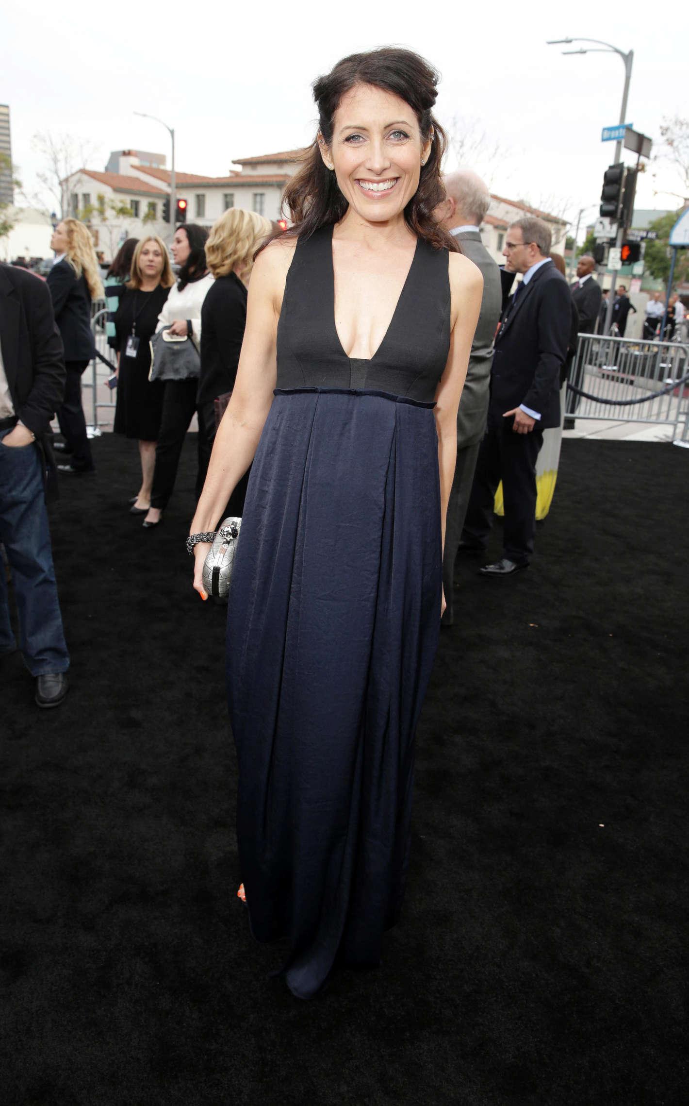 Lisa Edelstein Transcendence premiere in Los Angeles