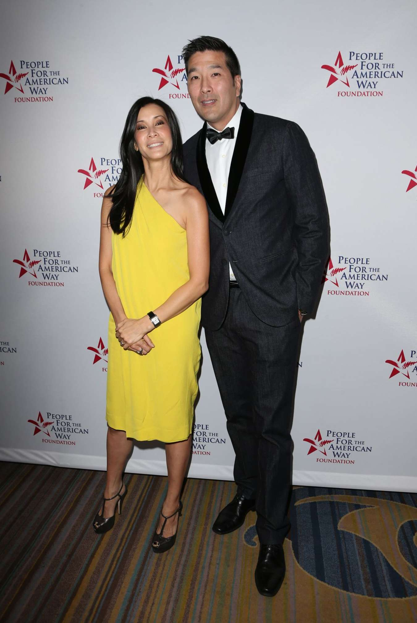 Lisa Ling Spirit Of Liberty Awards Dinner Theater in Beverly Hills