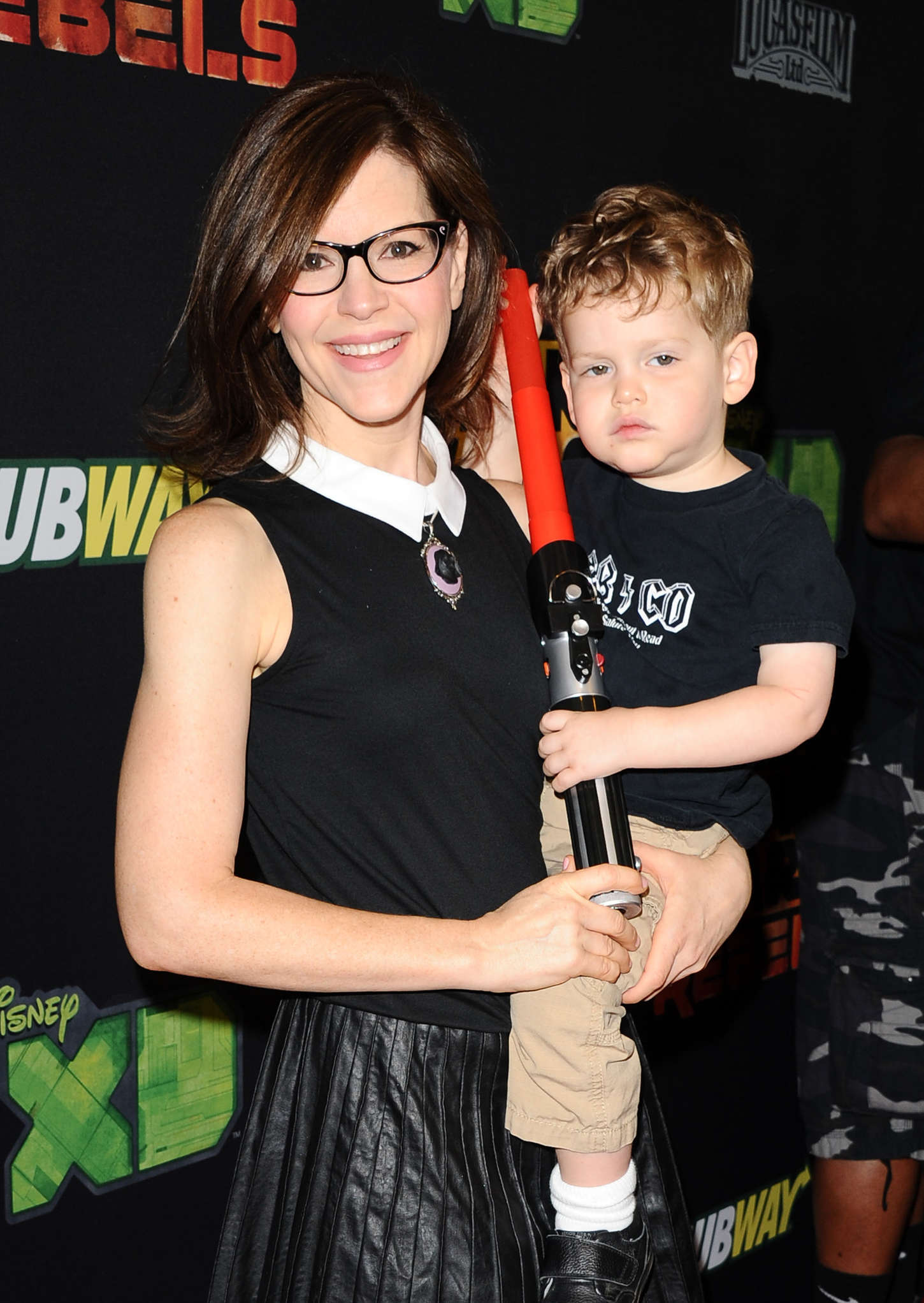 Lisa Loeb Premiere Star Wars Rebels in Century City