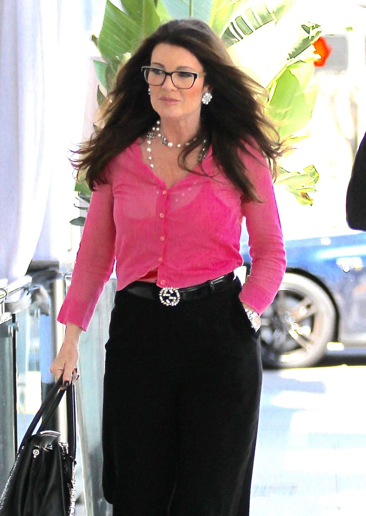 Lisa Vanderpump out for lunch in Beverly Hills