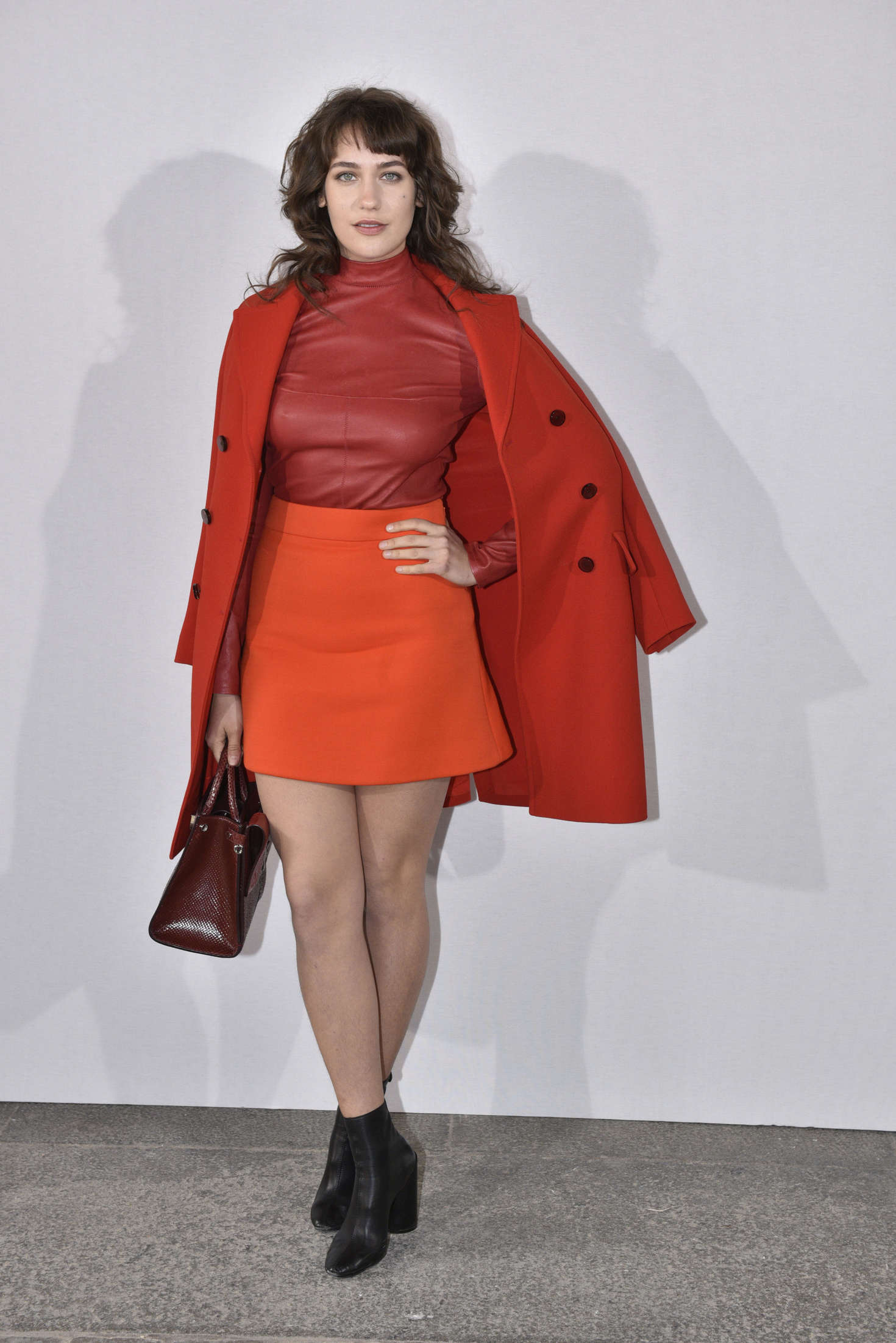Lola Kirke Christian Dior Fashion Show in Paris
