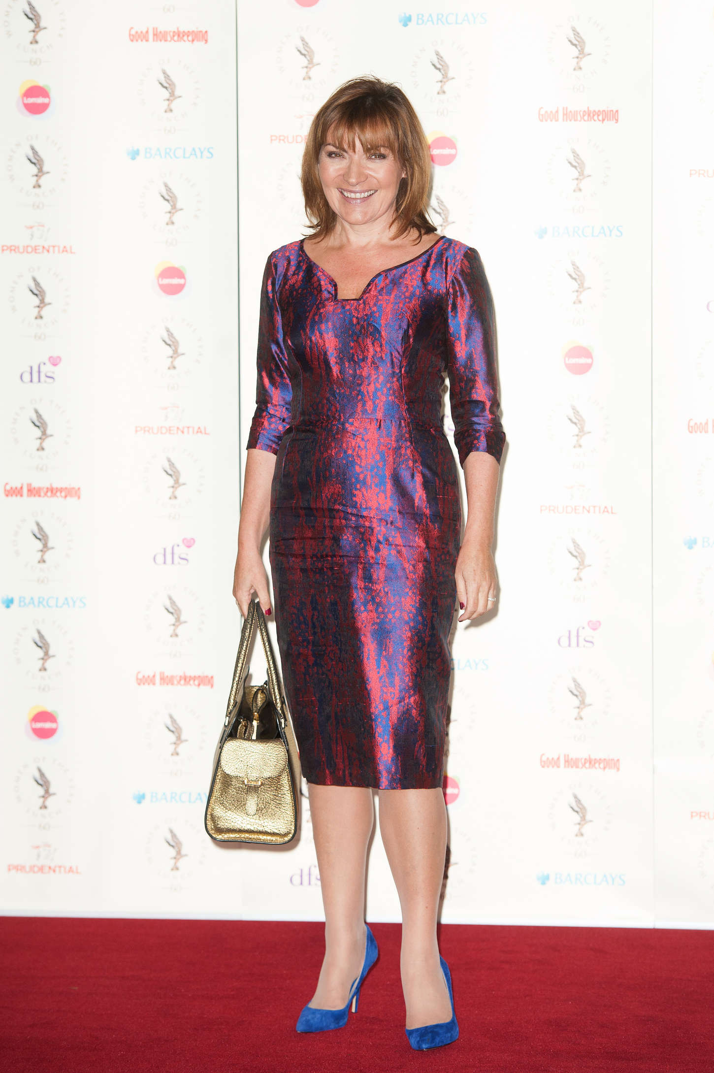 Lorraine Kelly at Women Of The Year Awards in London