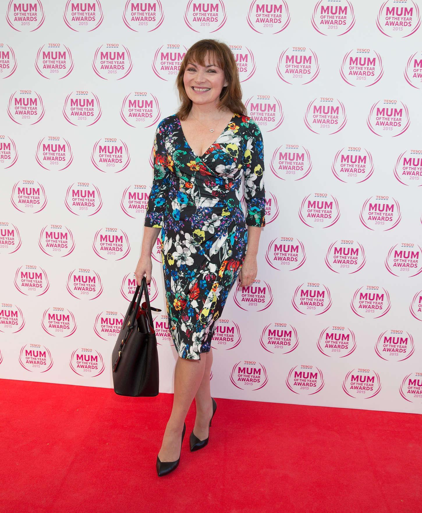 Lorraine Kelly Tesco Mum Of The Year Awards in London