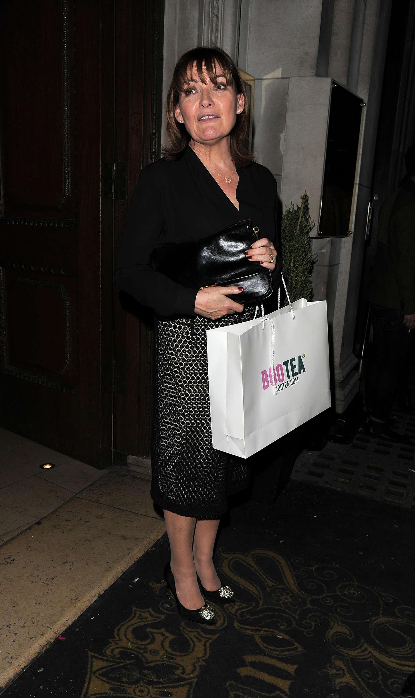 Lorraine Kelly The Sun Bizarre Party in London