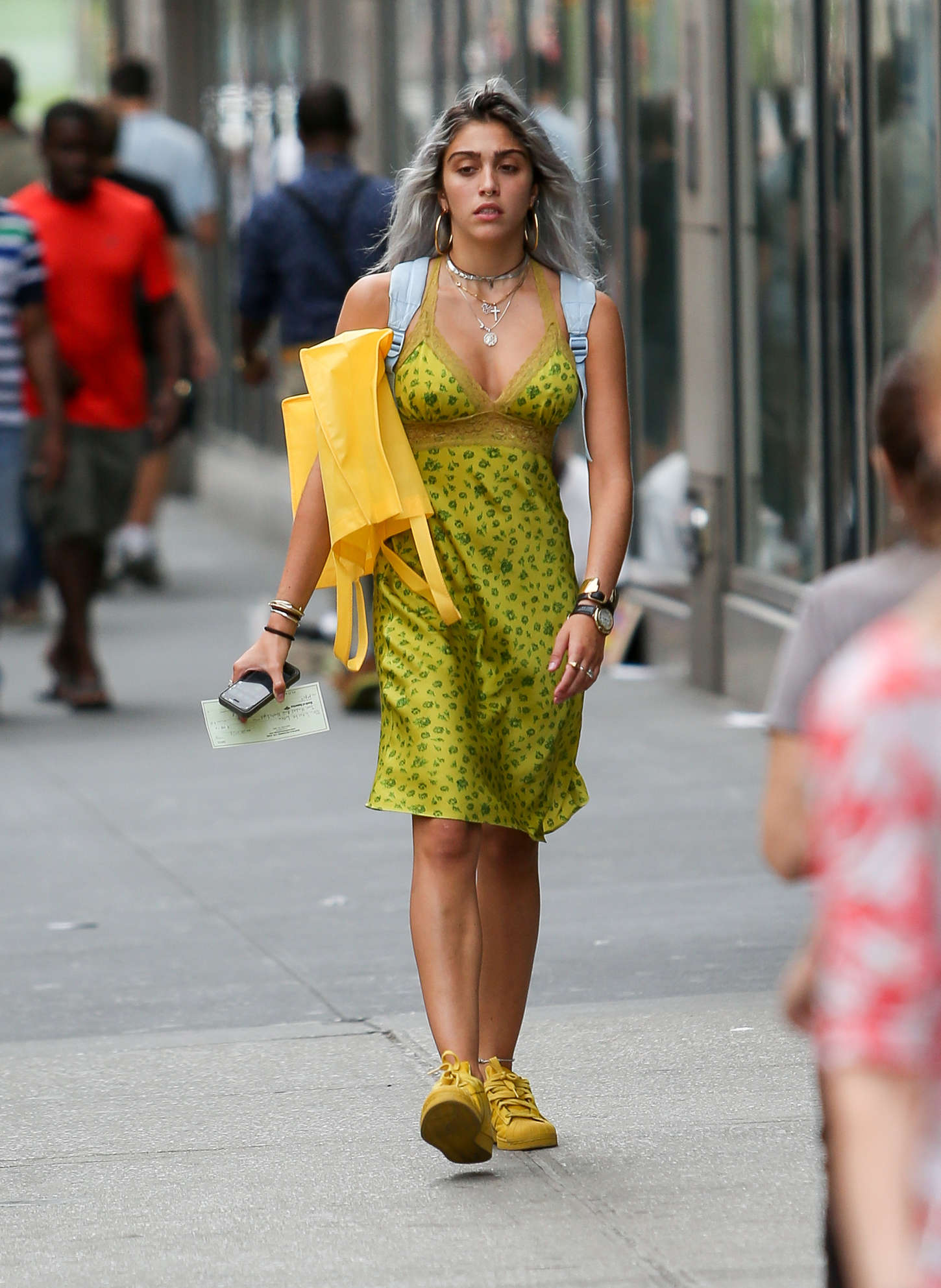 Lourdes Leon out in New York