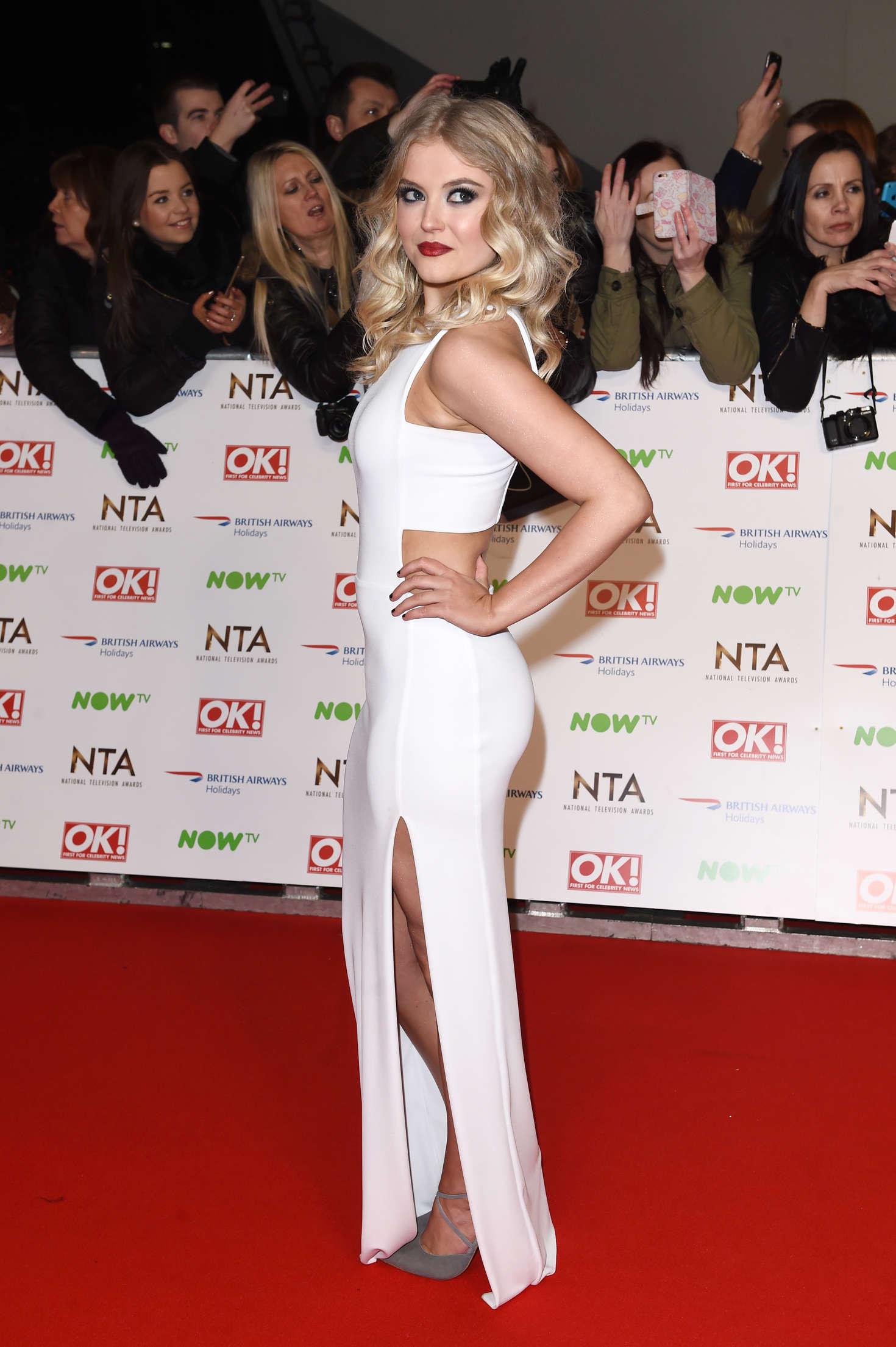 Lucy Fallon National Television Awards in London