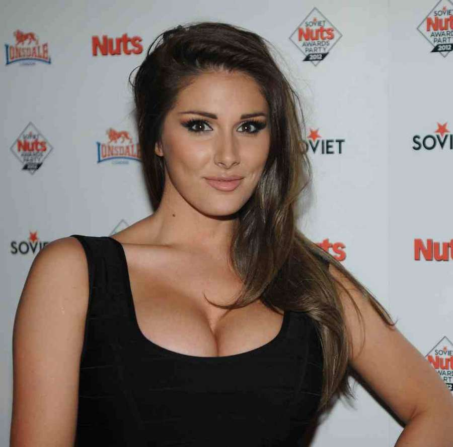 Lucy Pinder The Soviet Nuts Awards Party at Aura in Mayfair London