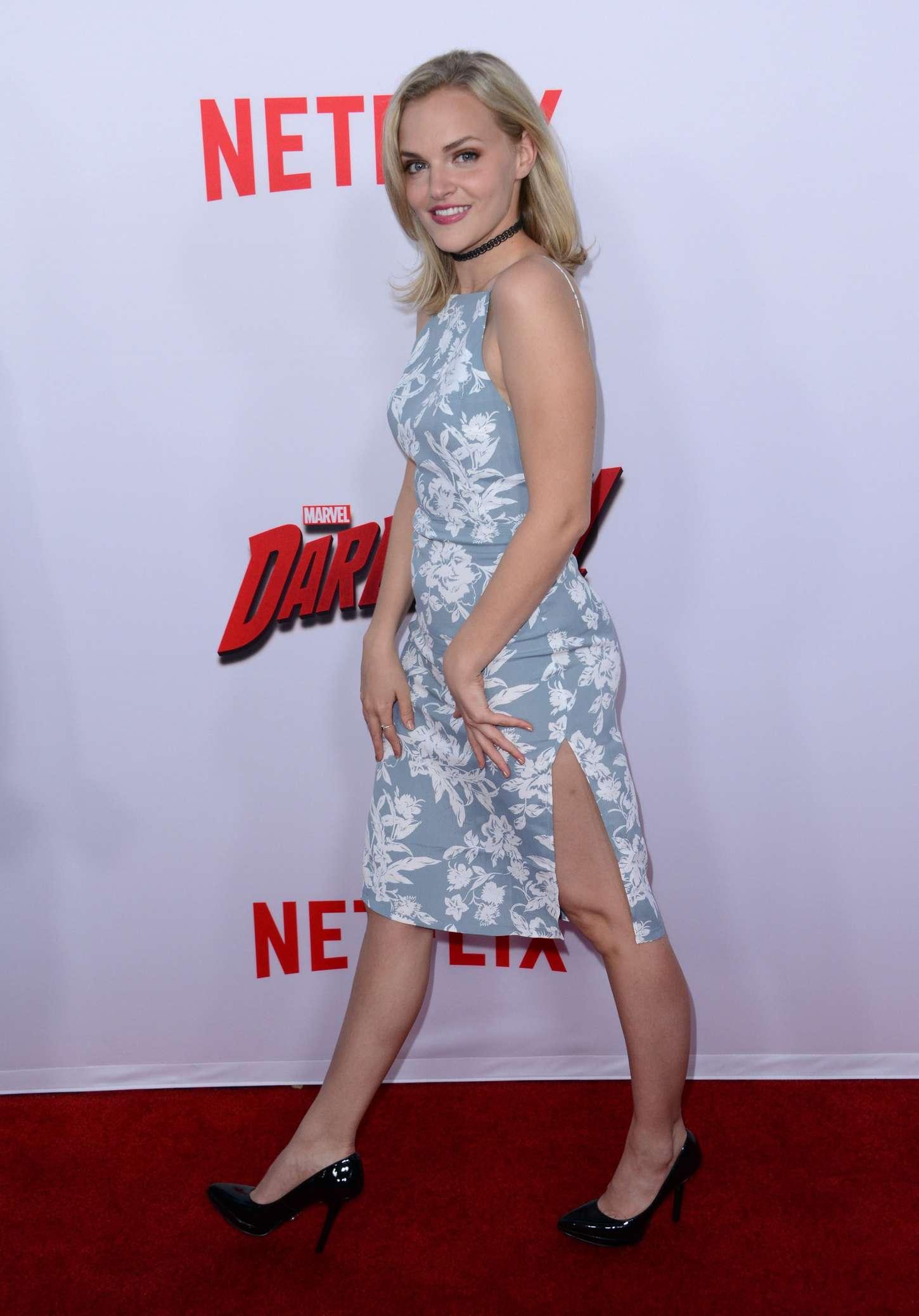 Madeline Brewer Daredevil Premiere in Los Angeles