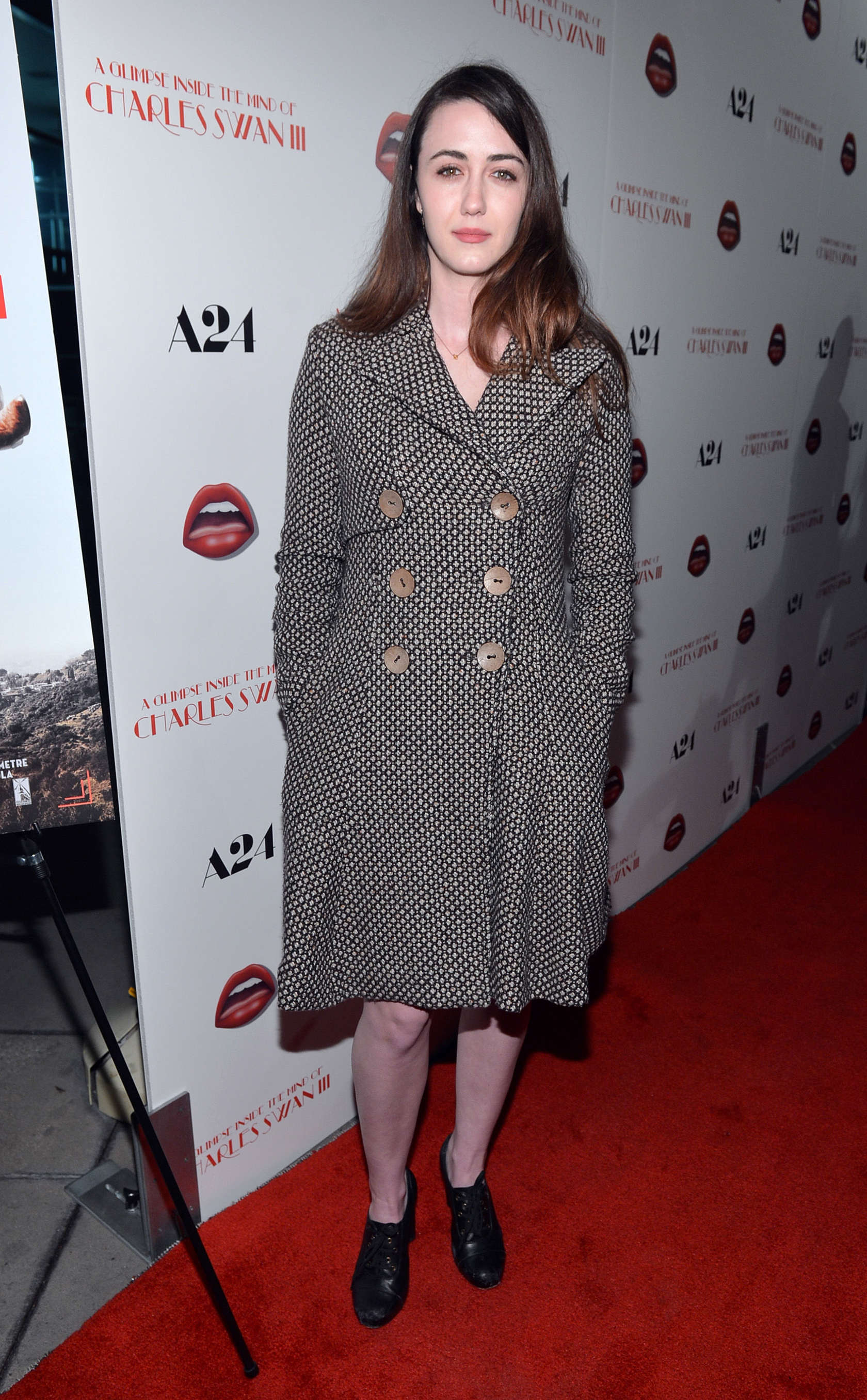 Madeline Zima at A Glimpse Inside the Mind of Charles Swan III premiere in Hollywood