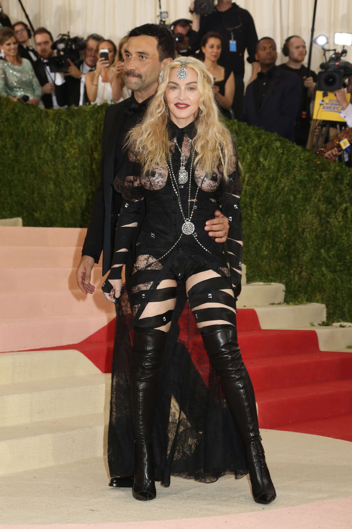 Madonna Met Gala in New York