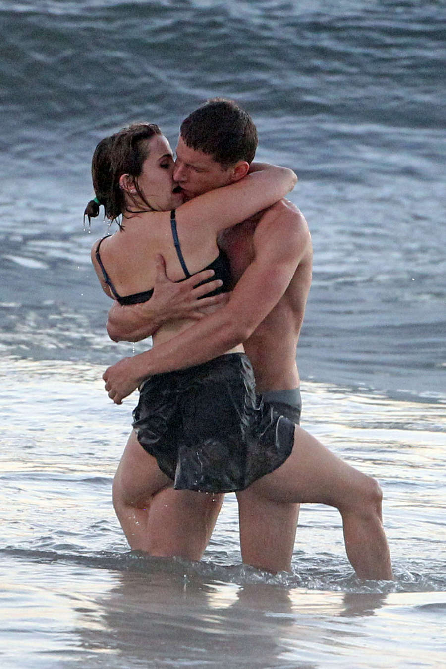 Mae Whitman On the set of Parenthood at a beach in Los Angeles