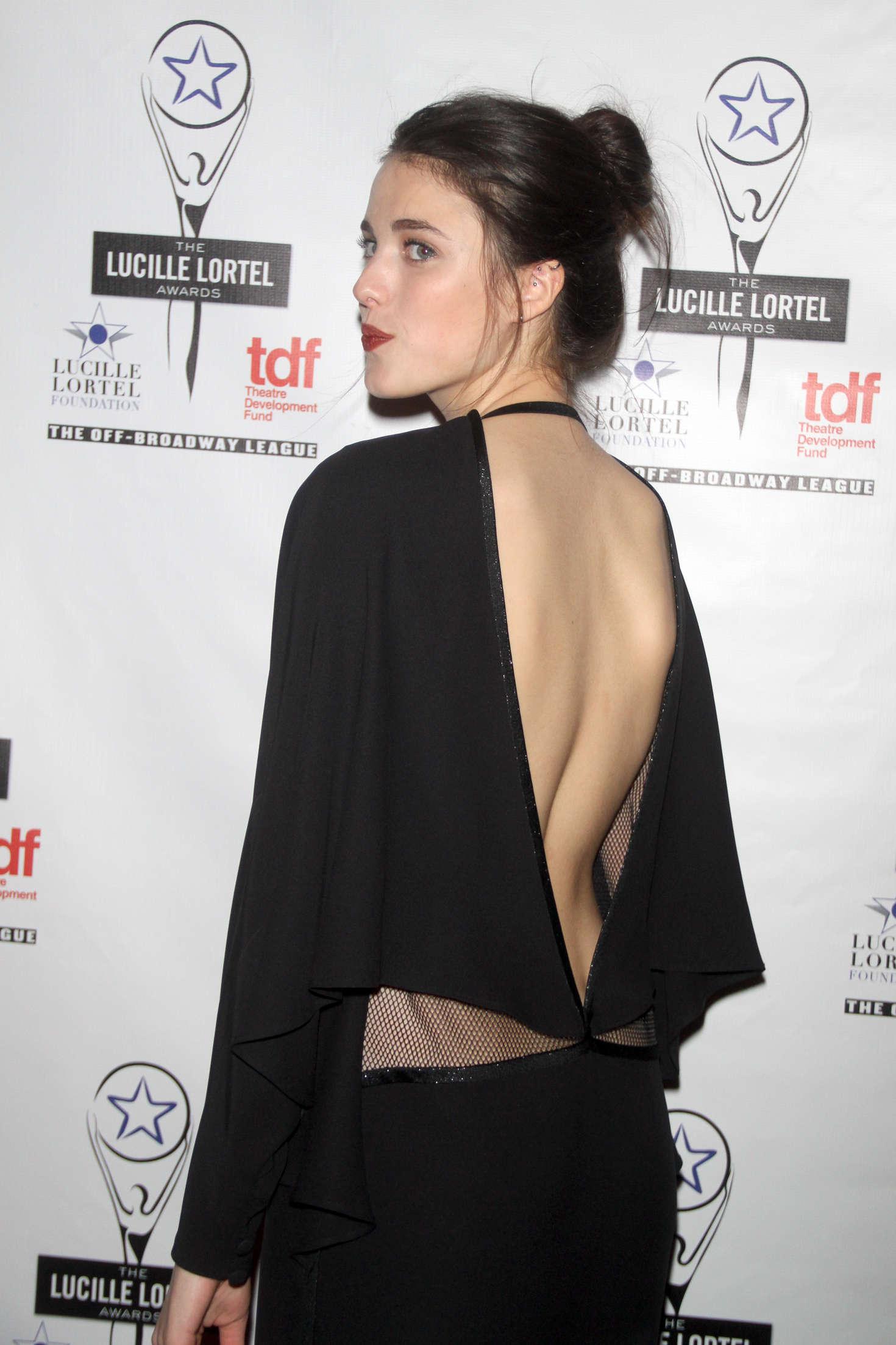 Margaret Qualley Annual Lucille Lortel Awards in New York