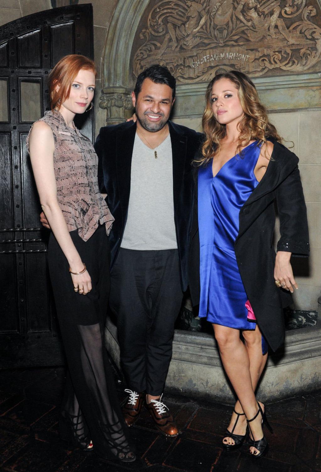 Margarita Levieva Jewelry Collection Launch Dinner Juan Carlos Obando Los Angeles