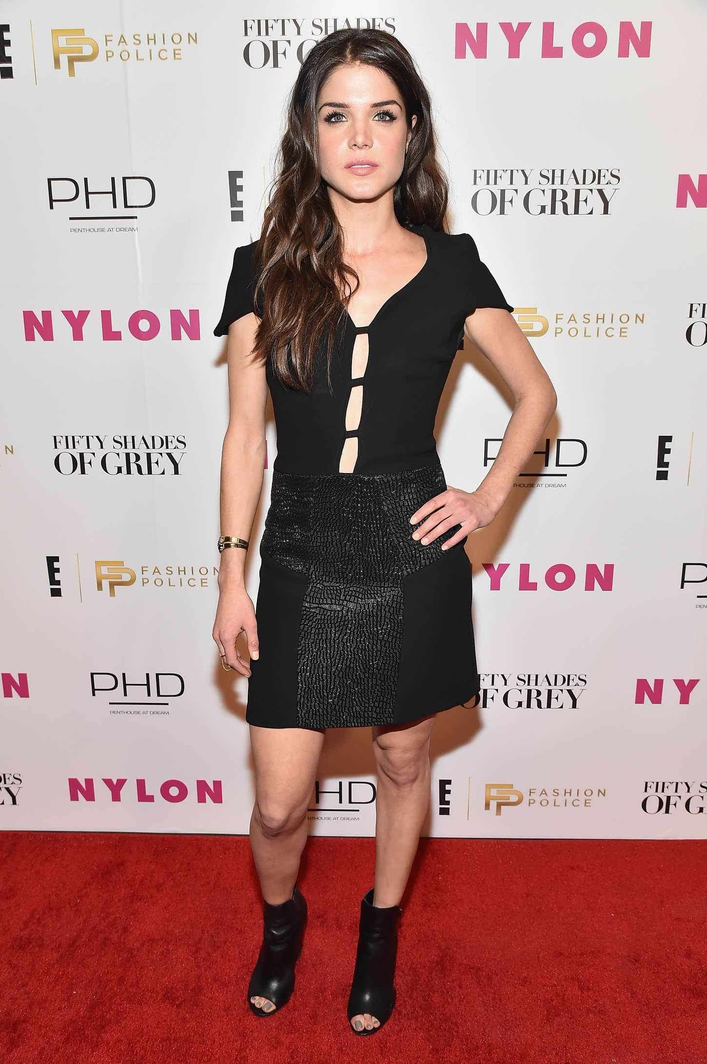 Marie Avgeropoulos New York Fashion Week Kickoff With Fifty Shades Of Fashion Event in New York