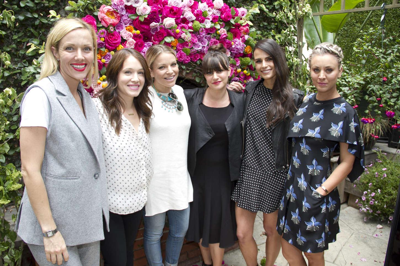 Marla Sokoloff ColourPOP Cosmetics Birthday Luncheon in West Hollywood