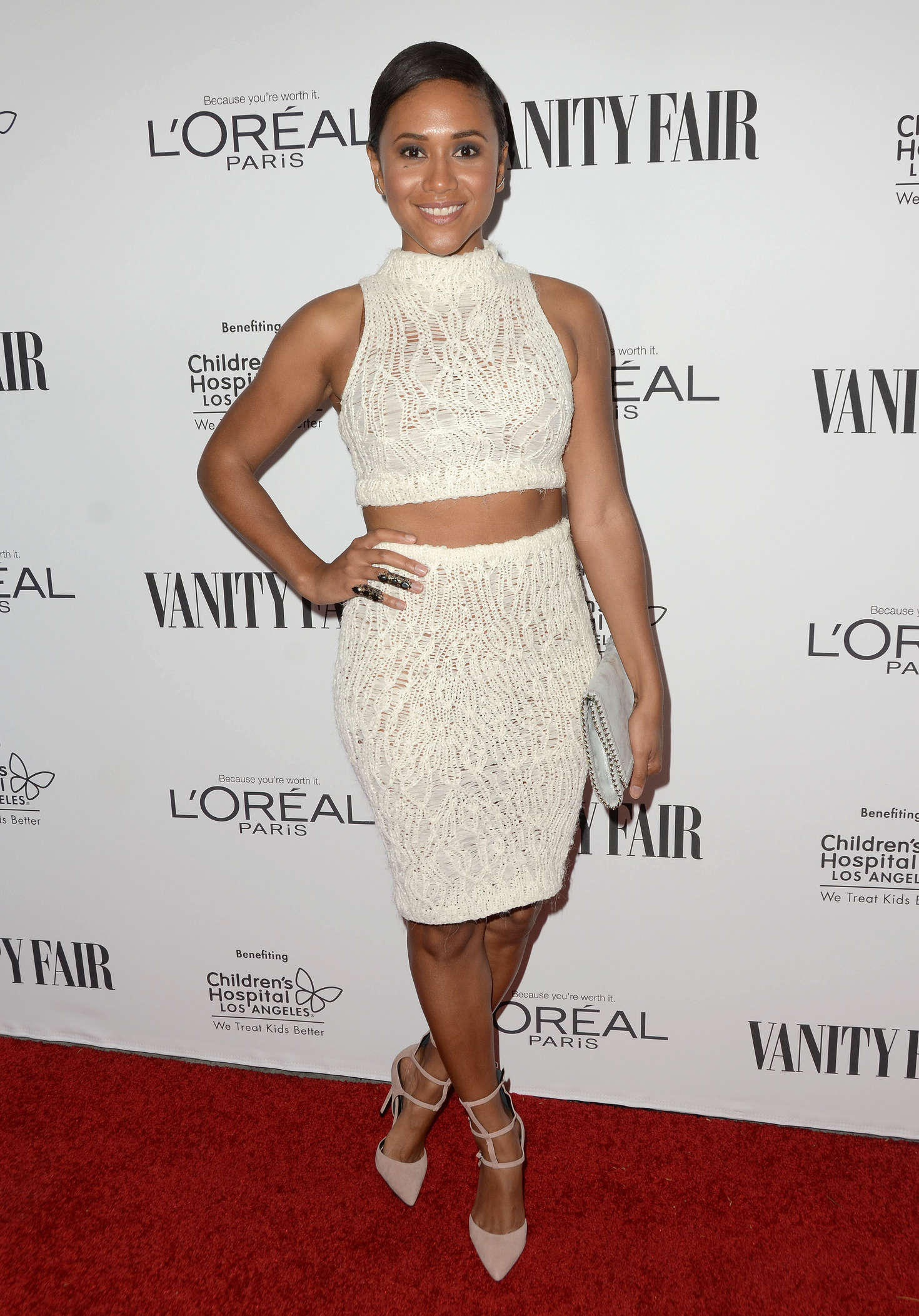 Maya Washington Vanity Fair LOreal Paris and Hailee Steinfeld host DJ Night in West Hollywood