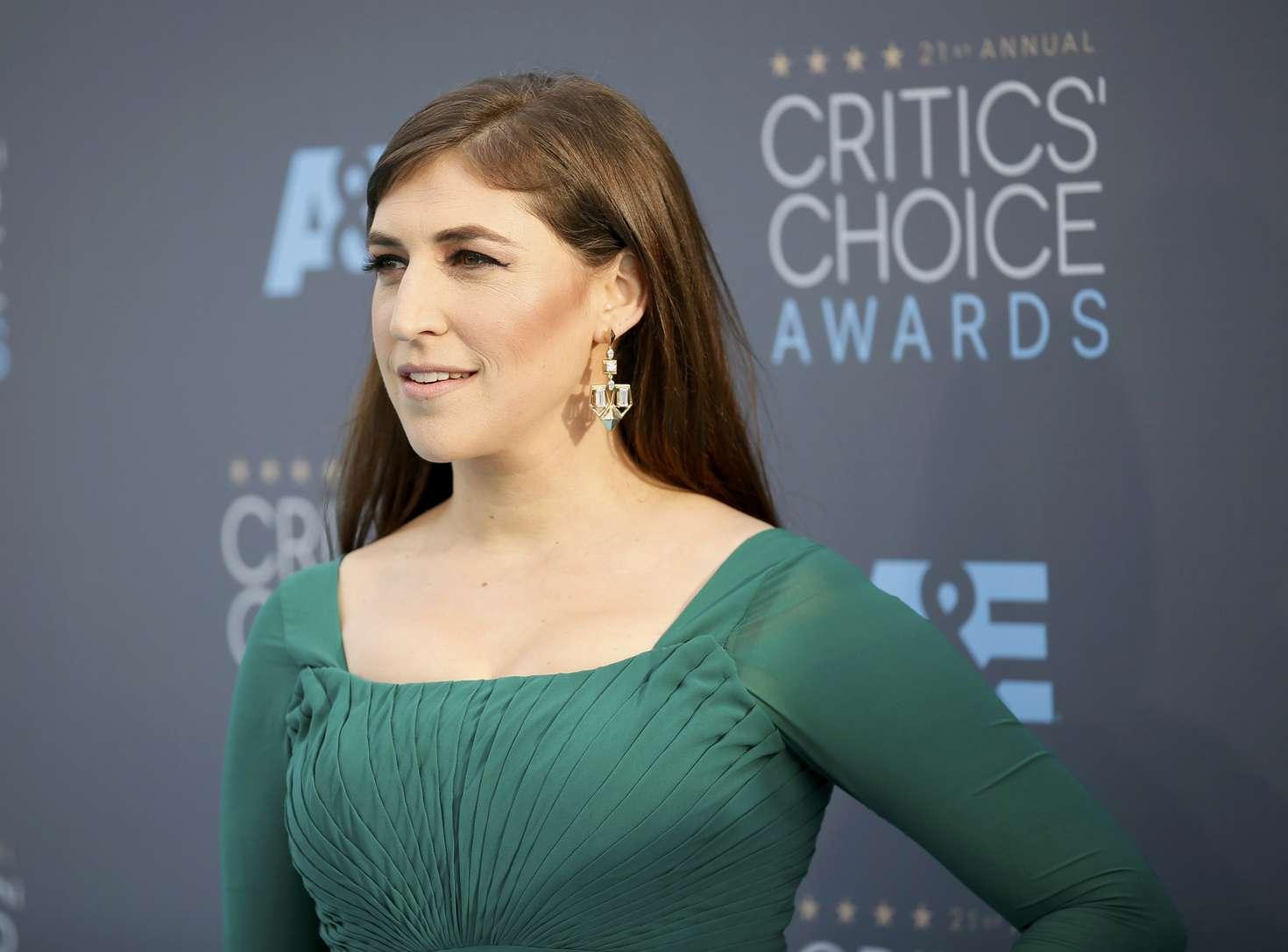 Mayim Bialik Annual Critics Choice Awards in Santa Monica
