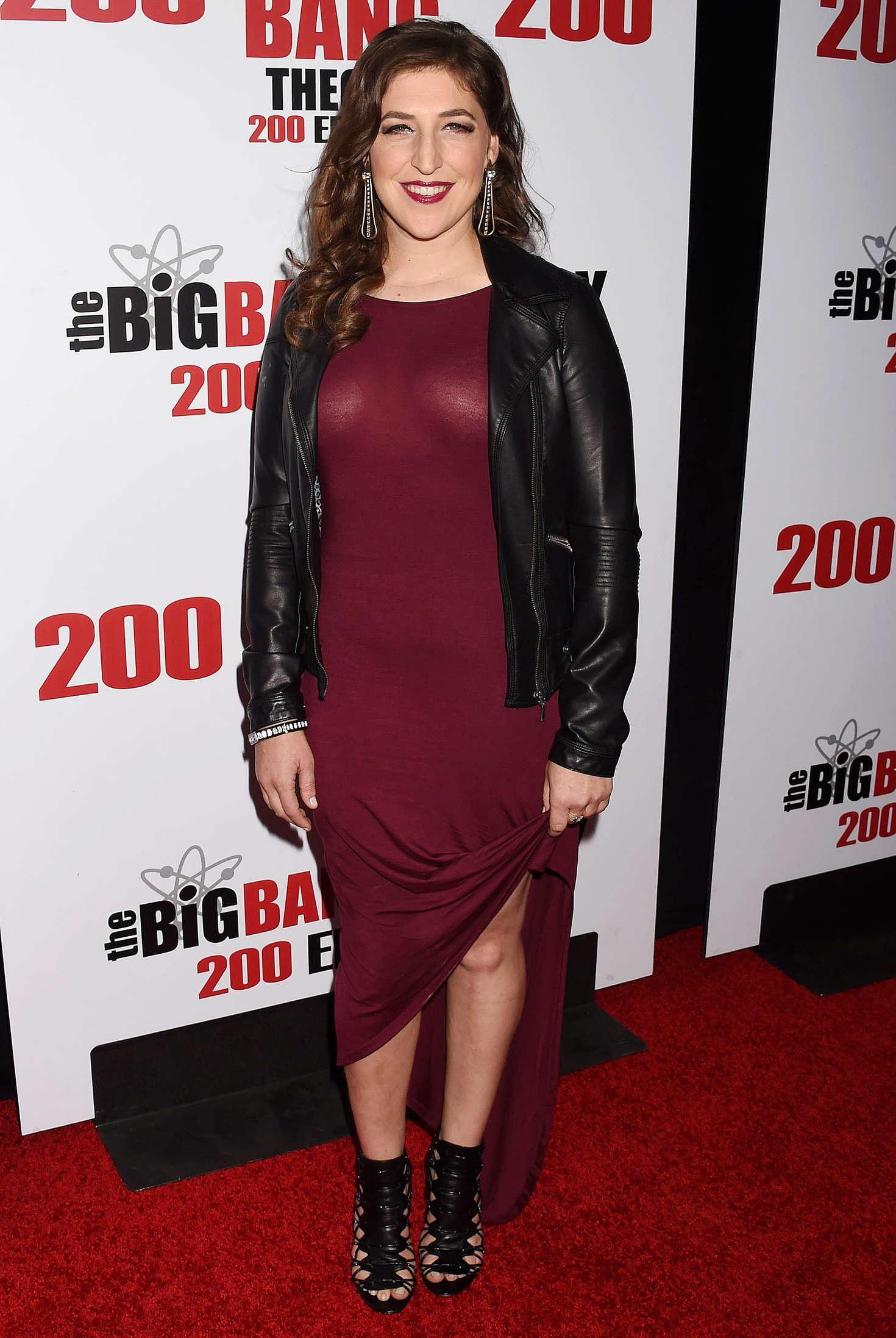 Mayim Bialik The Big Bang Theory Episode Celebration in Los Angeles