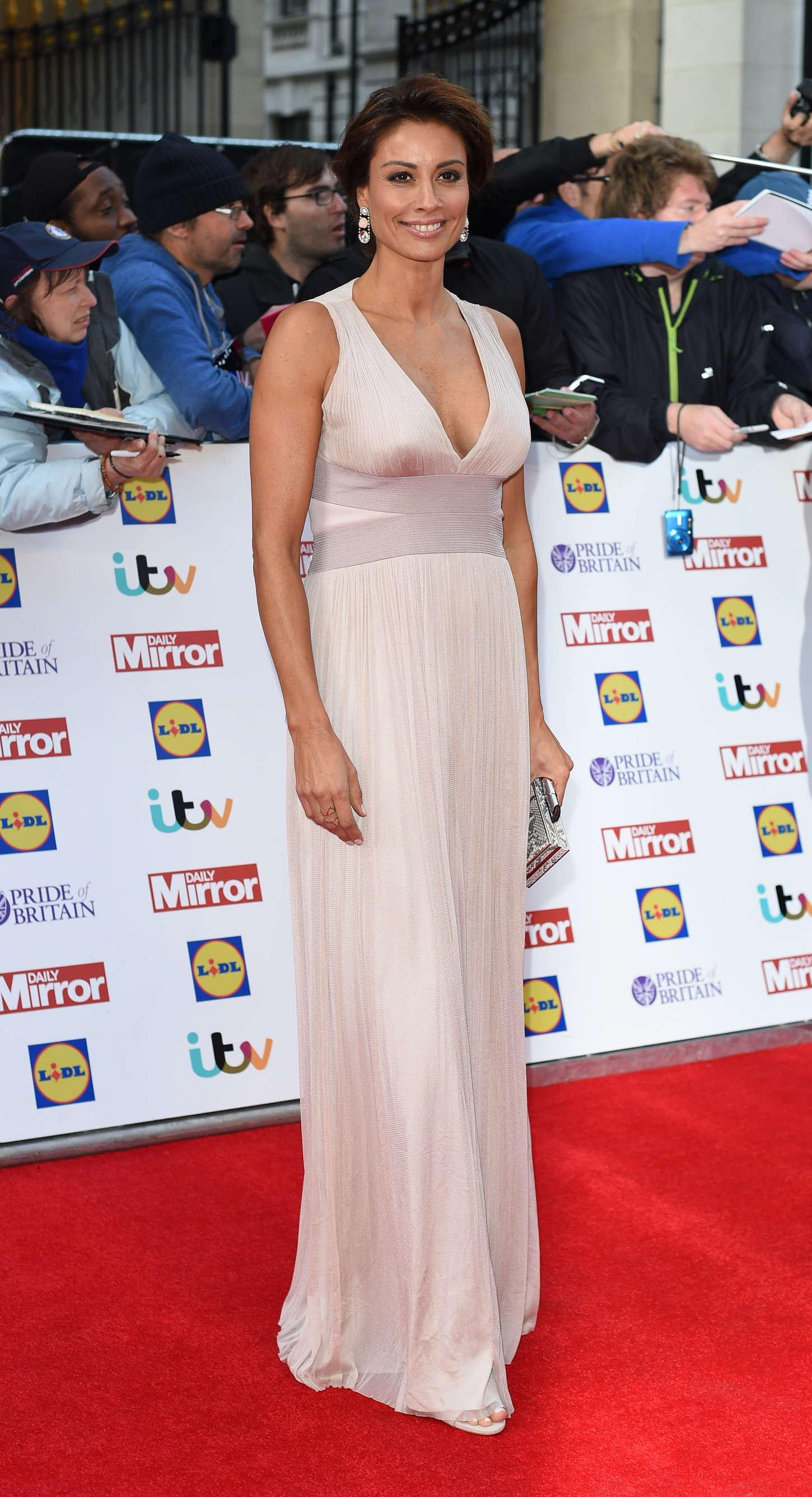 Melanie Sykes Pride of Britain Awards in London